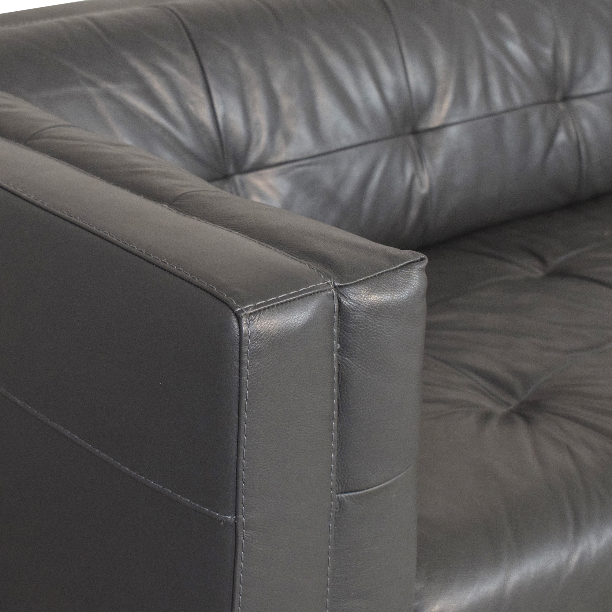 shop Chateau d'Ax Tufted Tuxedo Sofa Chateau d'Ax
