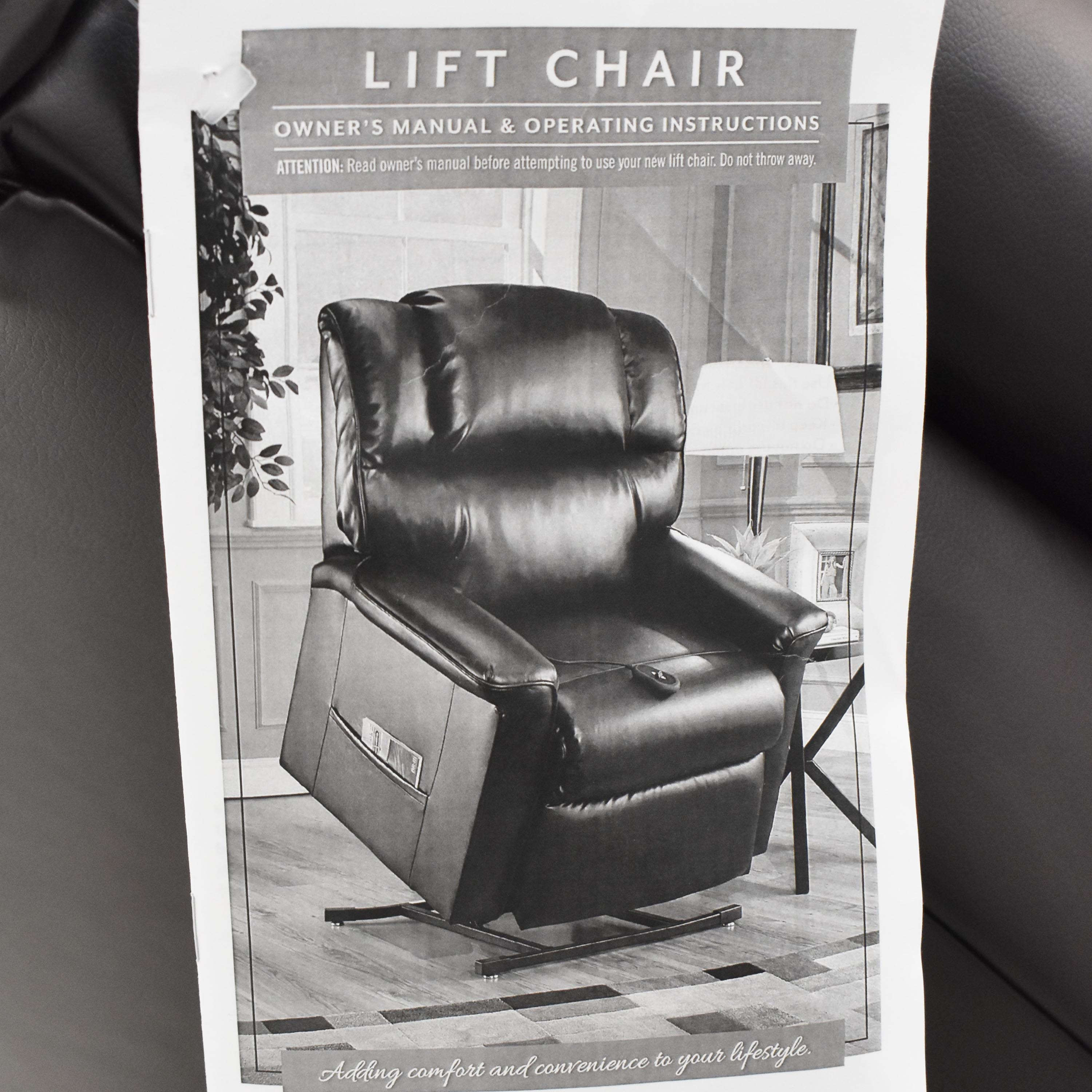 shop Raymour & Flanigan Myles Power Lift Recliner Raymour & Flanigan Chairs