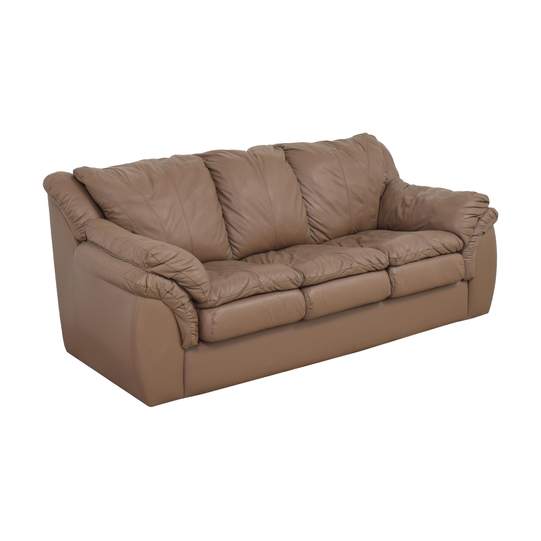 Plush Three Cushion Sofa sale