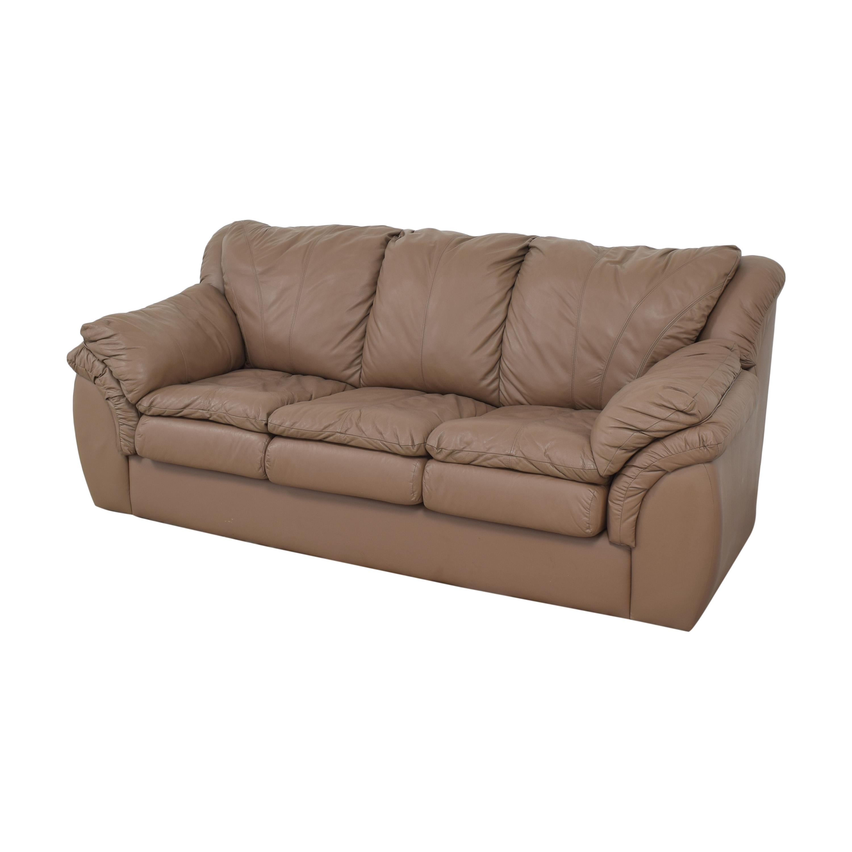 Plush Three Cushion Sofa coupon
