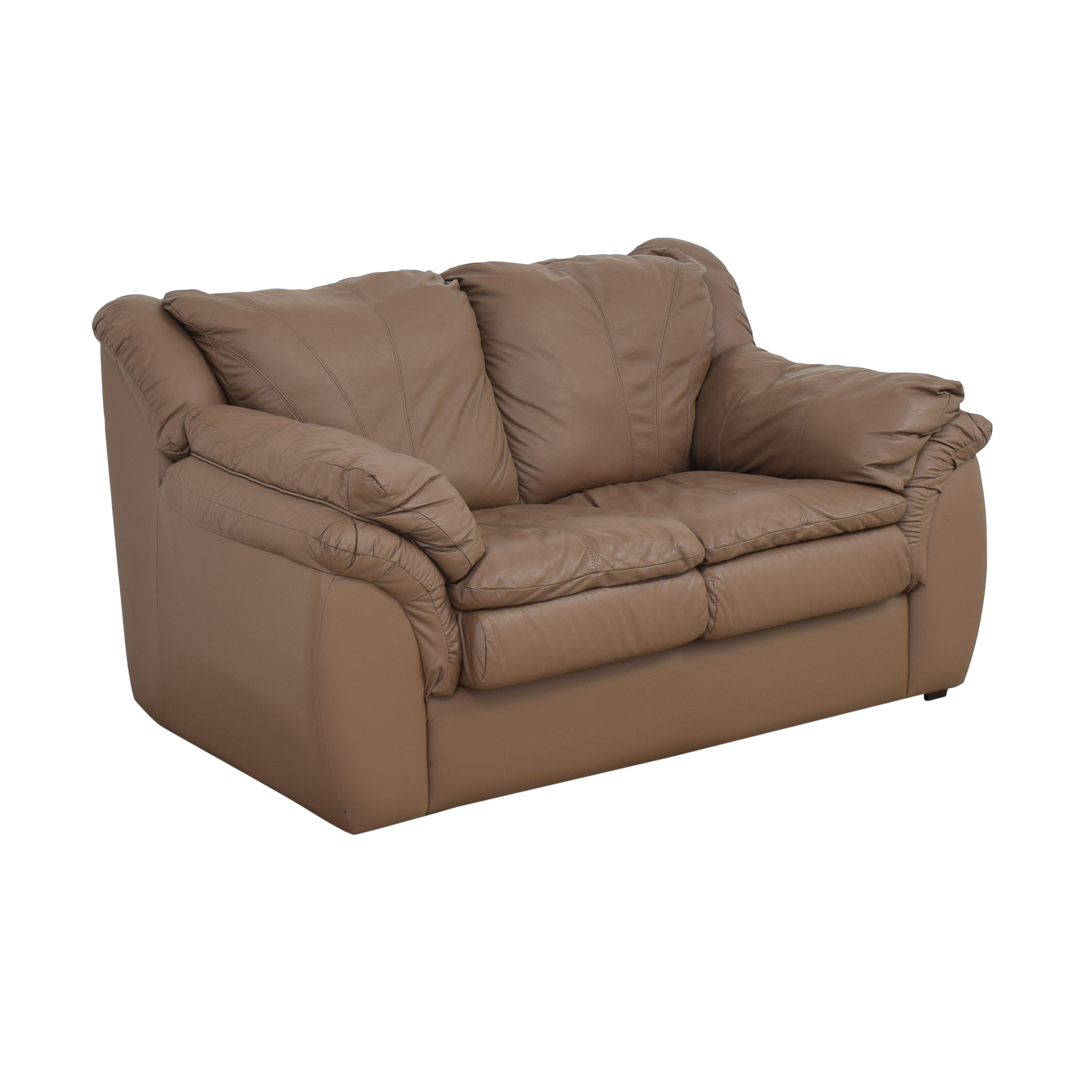 buy Plush Loveseat with Arm Cushions  Sofas