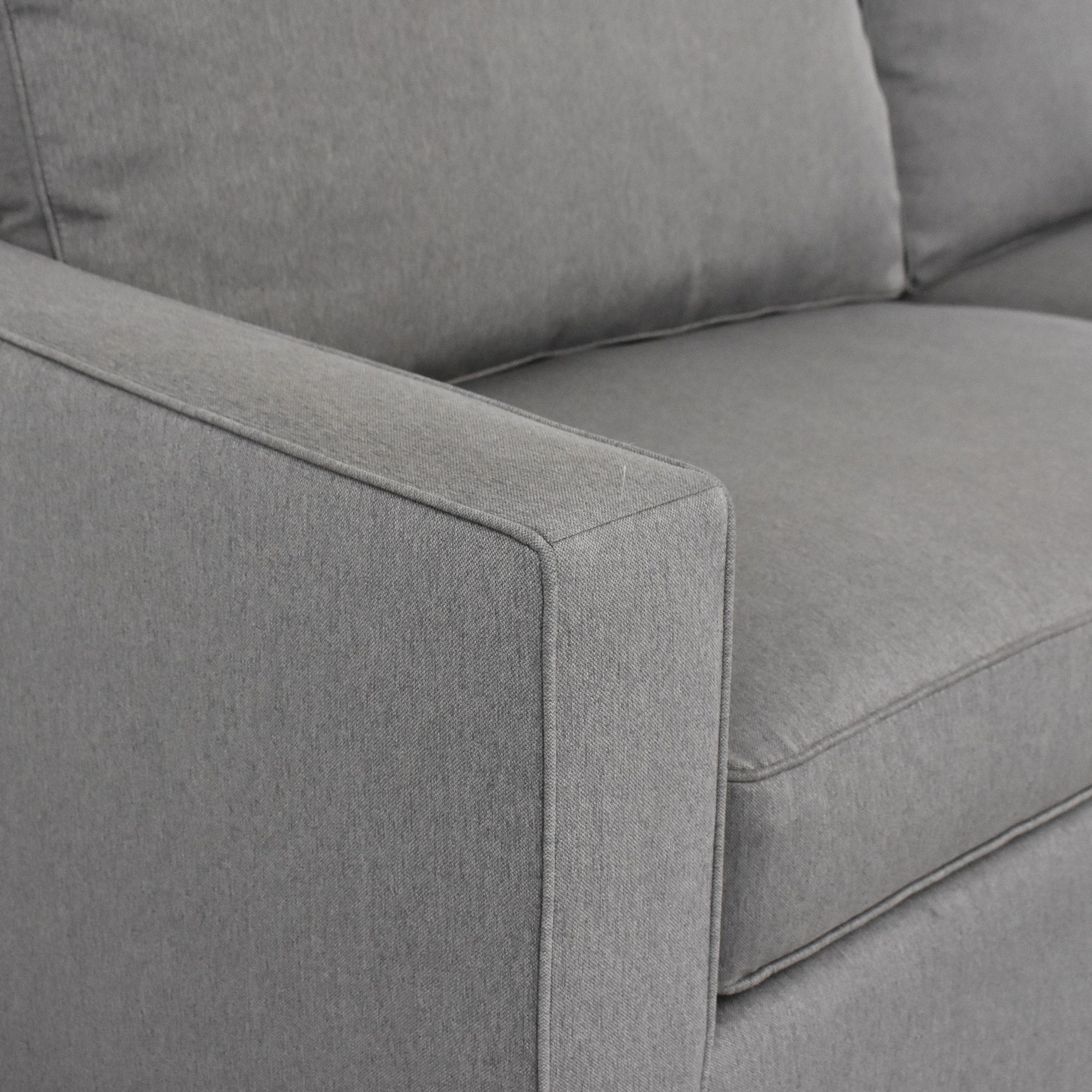 shop Room & Board York Two Cushion Sofa Room & Board