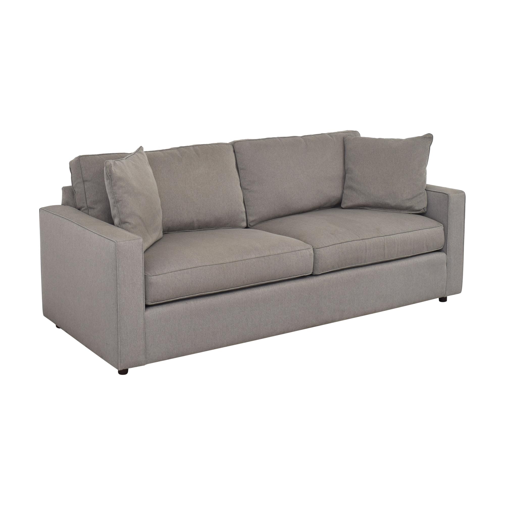 buy Room & Board York Two Cushion Sofa Room & Board Classic Sofas