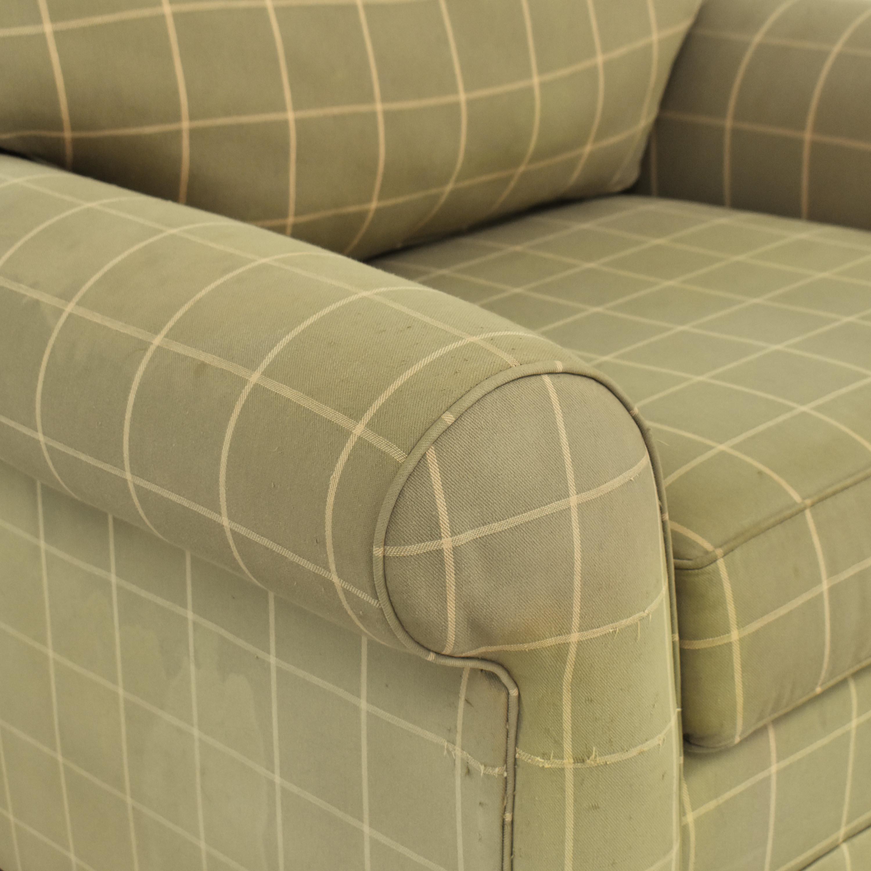 Ethan Allen Ethan Allen Bennett Roll-Arm Chair dimensions