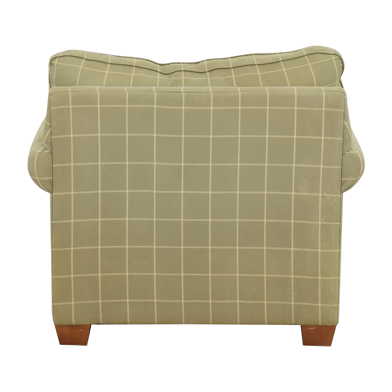 shop Ethan Allen Bennett Roll-Arm Chair Ethan Allen Accent Chairs