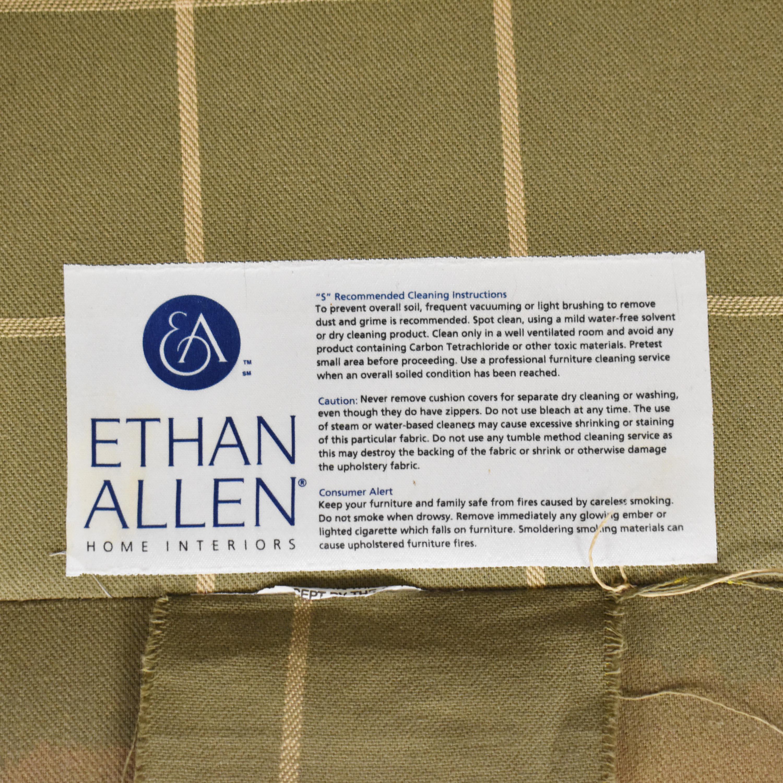 buy Ethan Allen Bennett Roll-Arm Chair Ethan Allen Accent Chairs