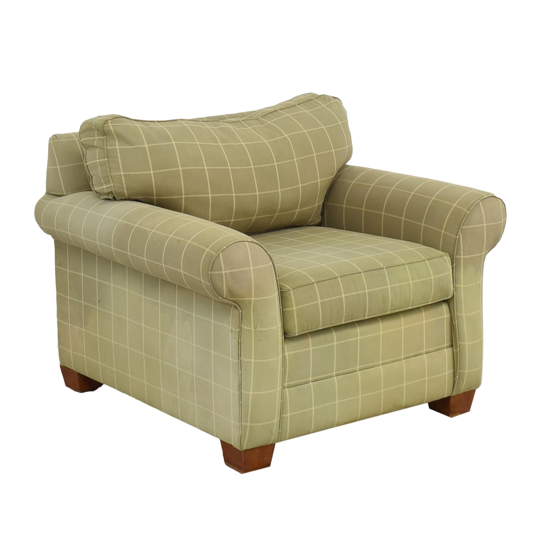Ethan Allen Bennett Roll-Arm Chair / Accent Chairs