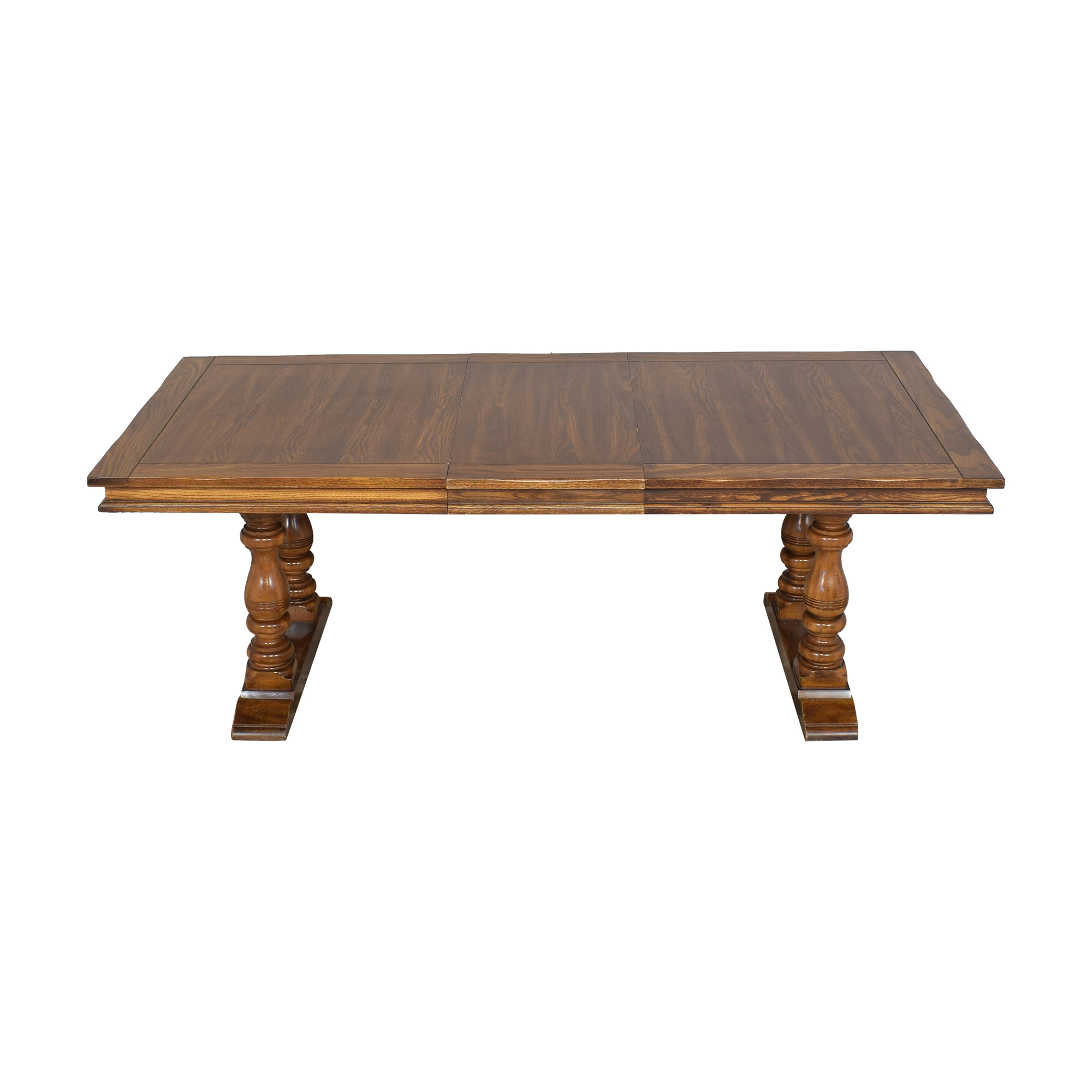 Rectangular Extendable Dining Table second hand
