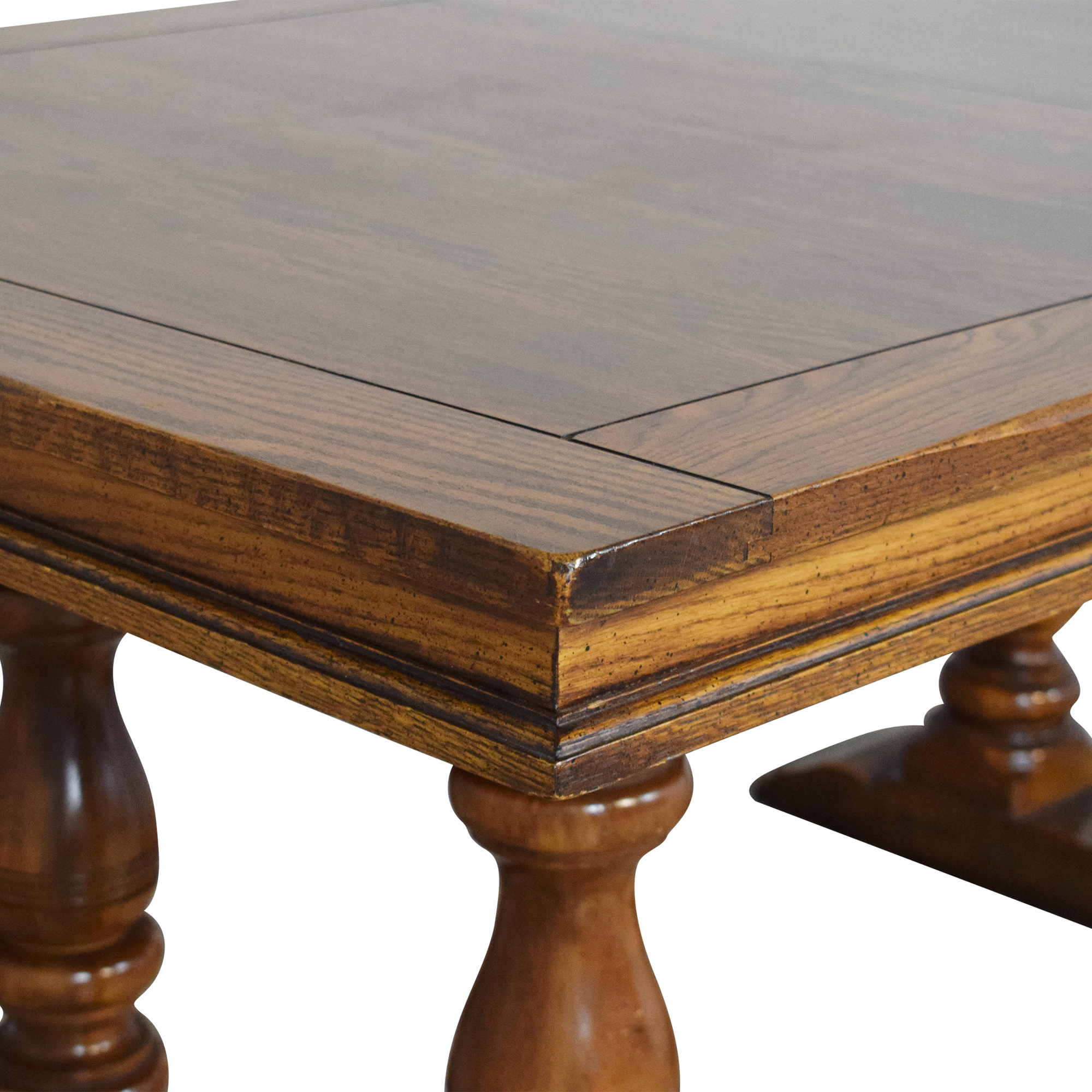 Rectangular Extendable Dining Table ct