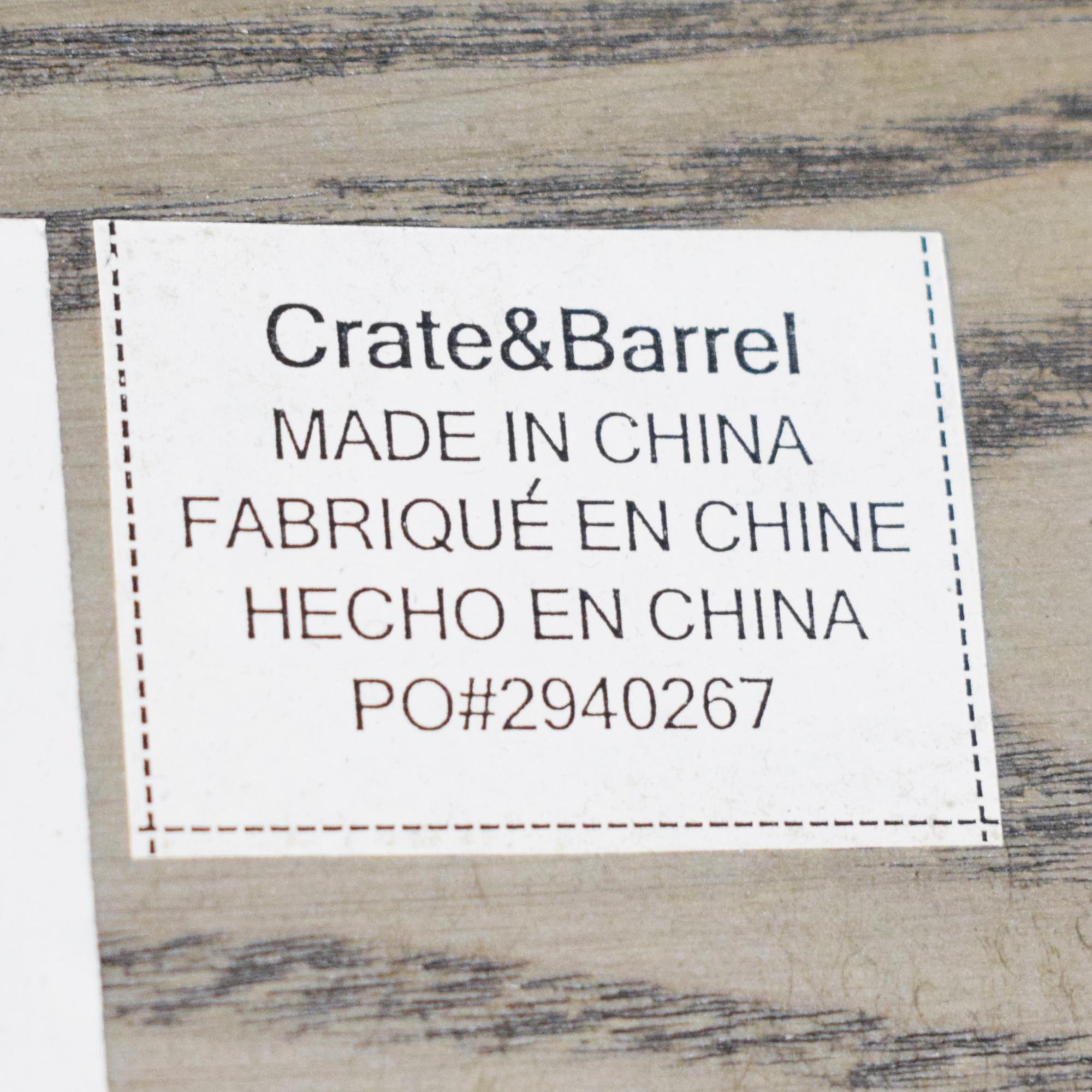 Crate & Barrel Crate & Barrel Dining Table nj