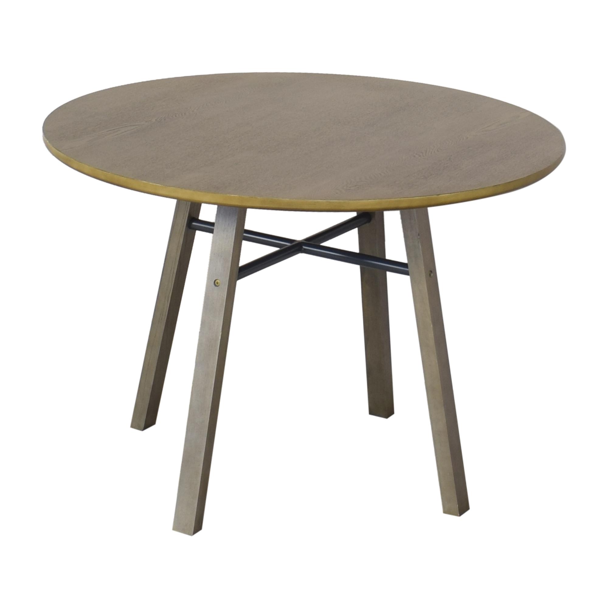 shop Crate & Barrel Dining Table Crate & Barrel Tables