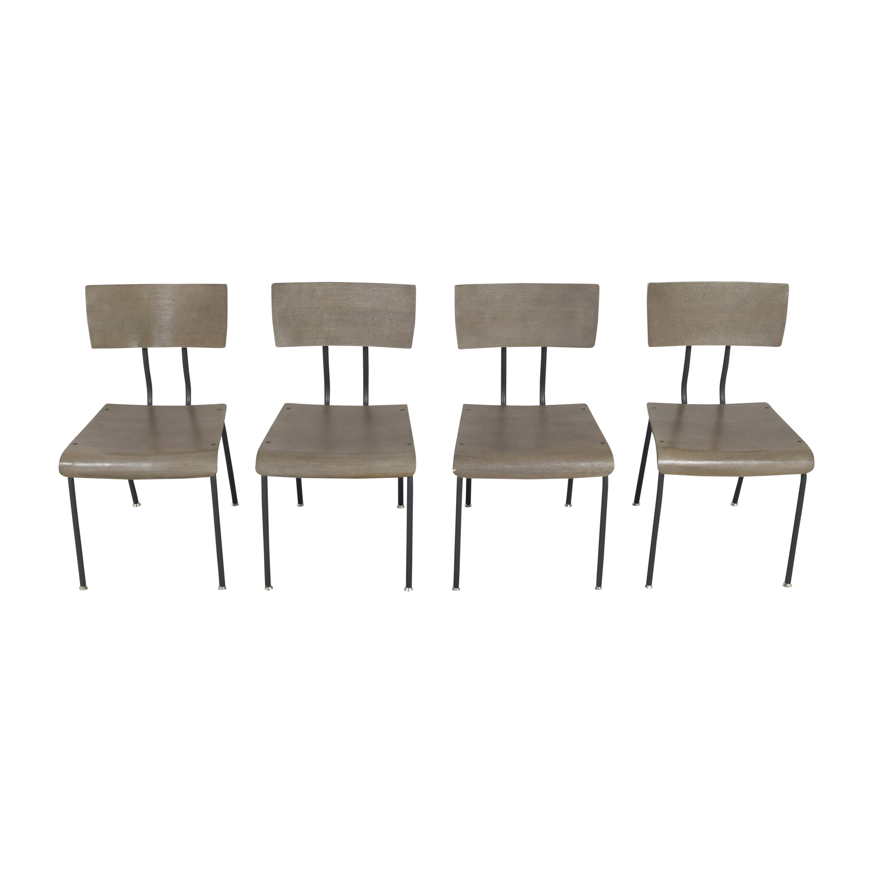Crate & Barrel Crate & Barrel Scholar Dining Chairs used