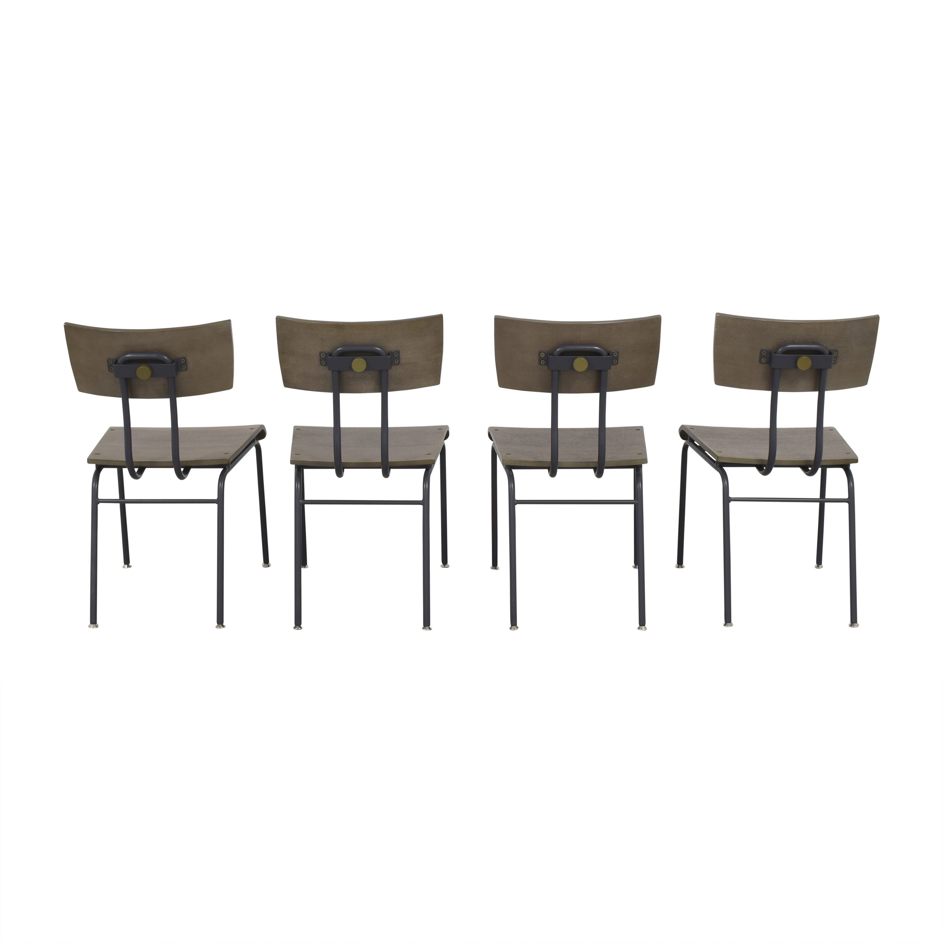 Crate & Barrel Scholar Dining Chairs / Dining Chairs