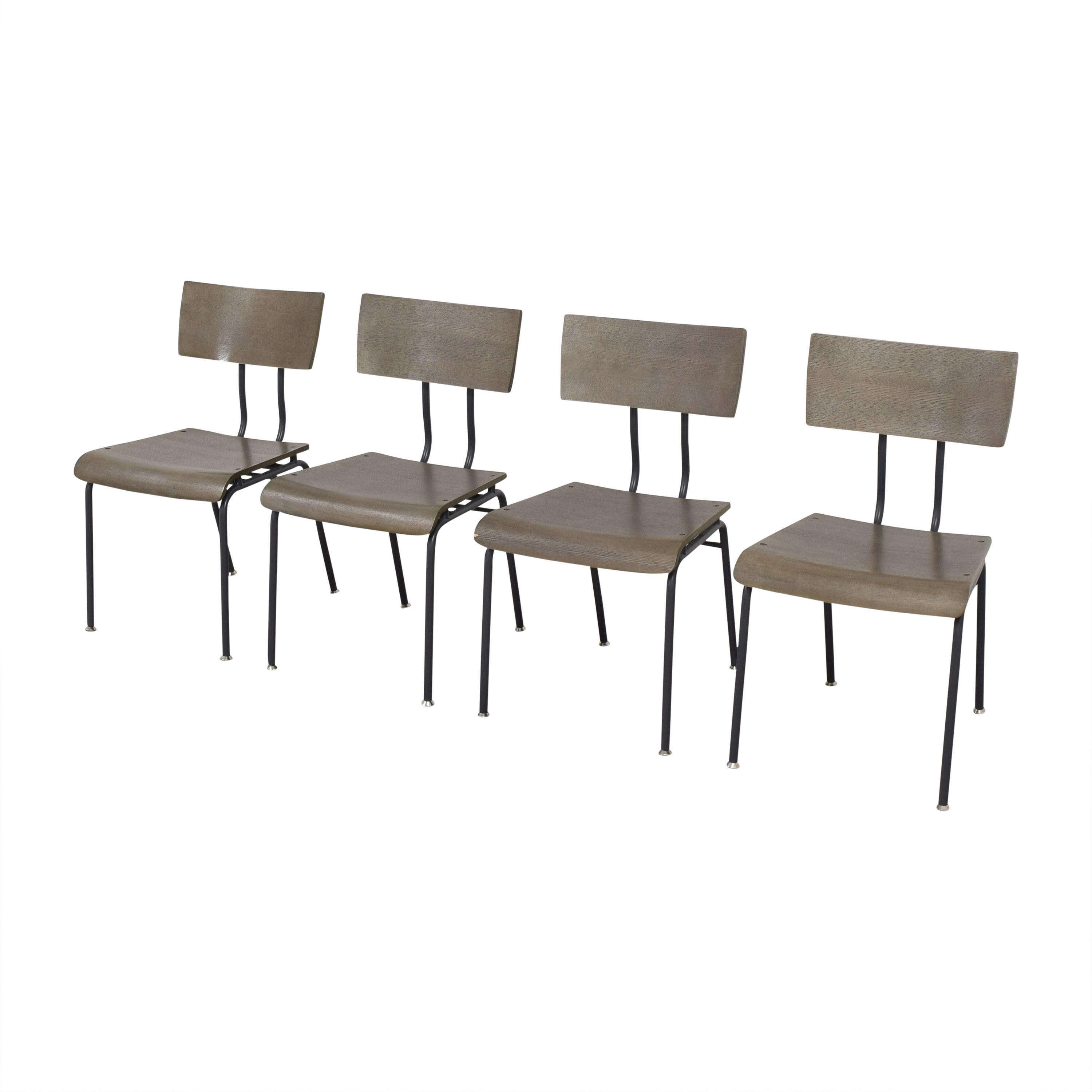 Crate & Barrel Crate & Barrel Scholar Dining Chairs ct