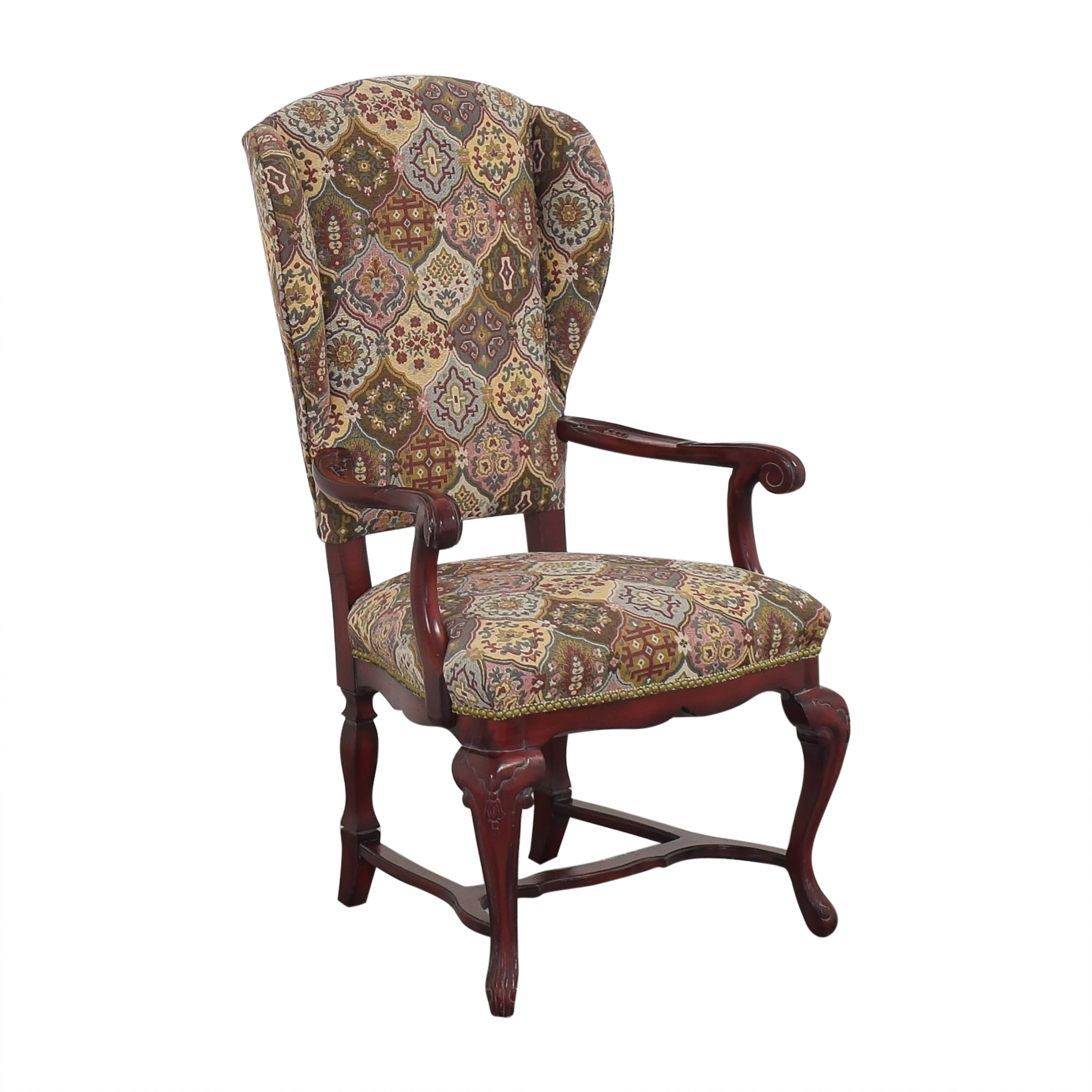 Wing Back Arm Chair multi