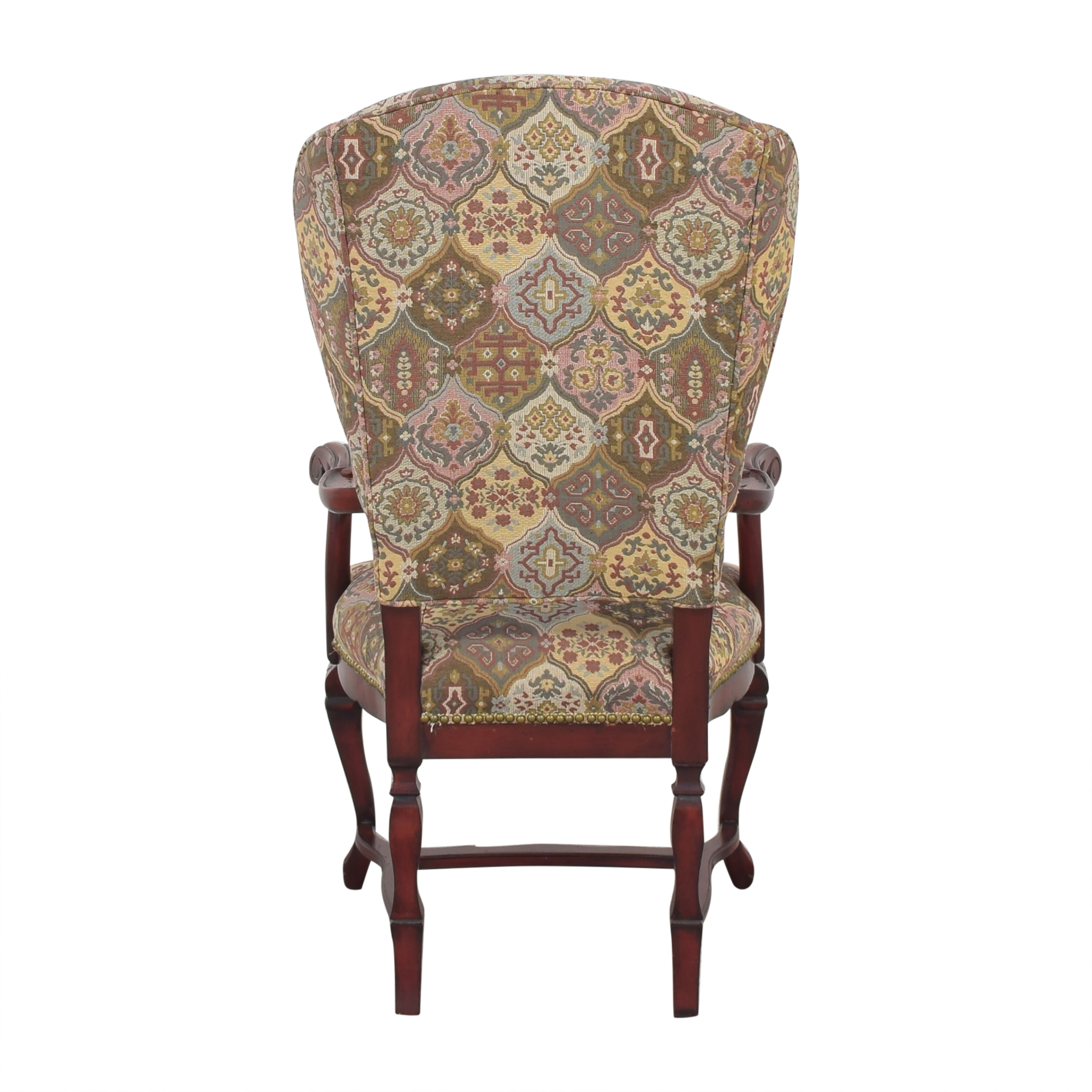 Wing Back Arm Chair used