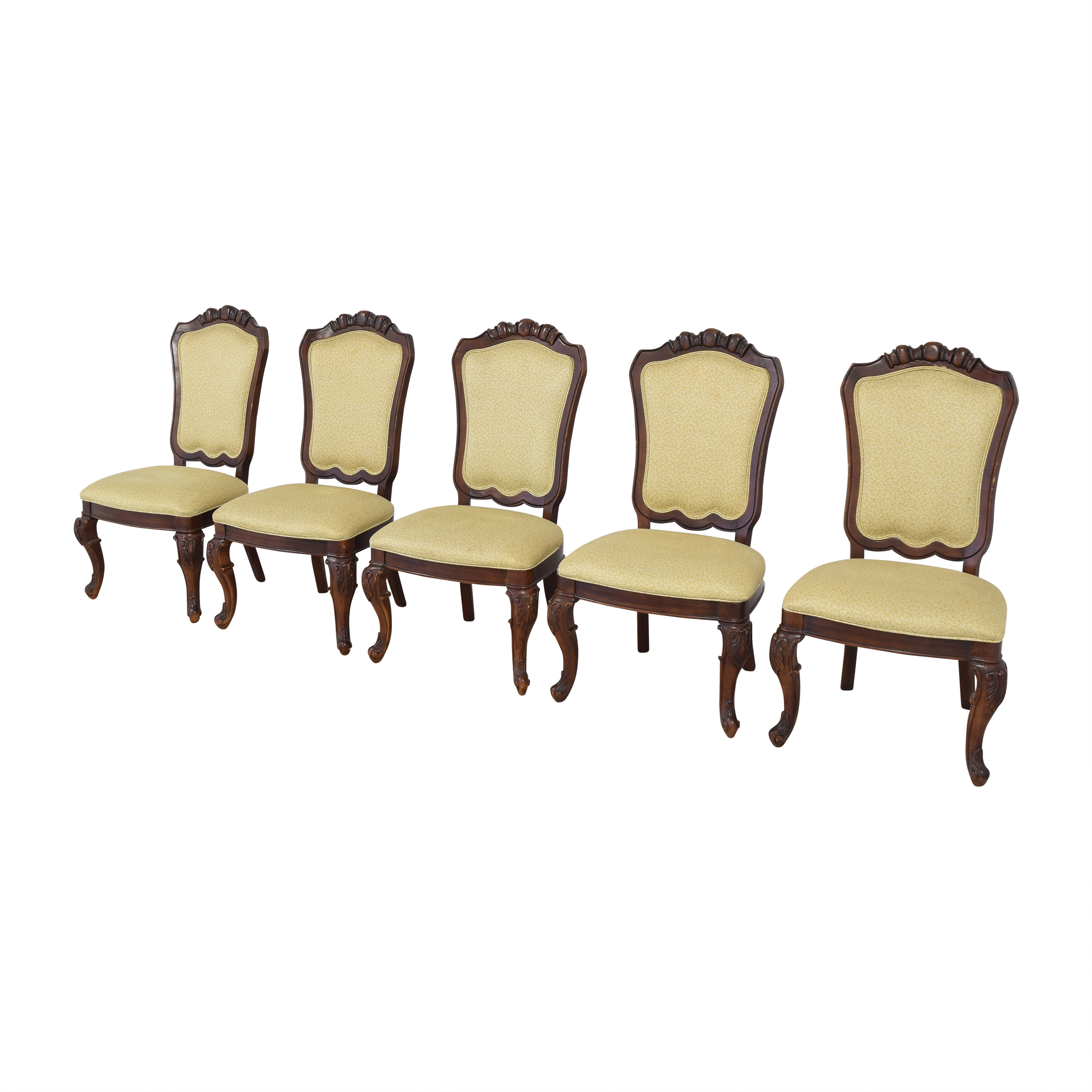 shop Thomasville Upholstered Dining Side Chairs Thomasville Chairs