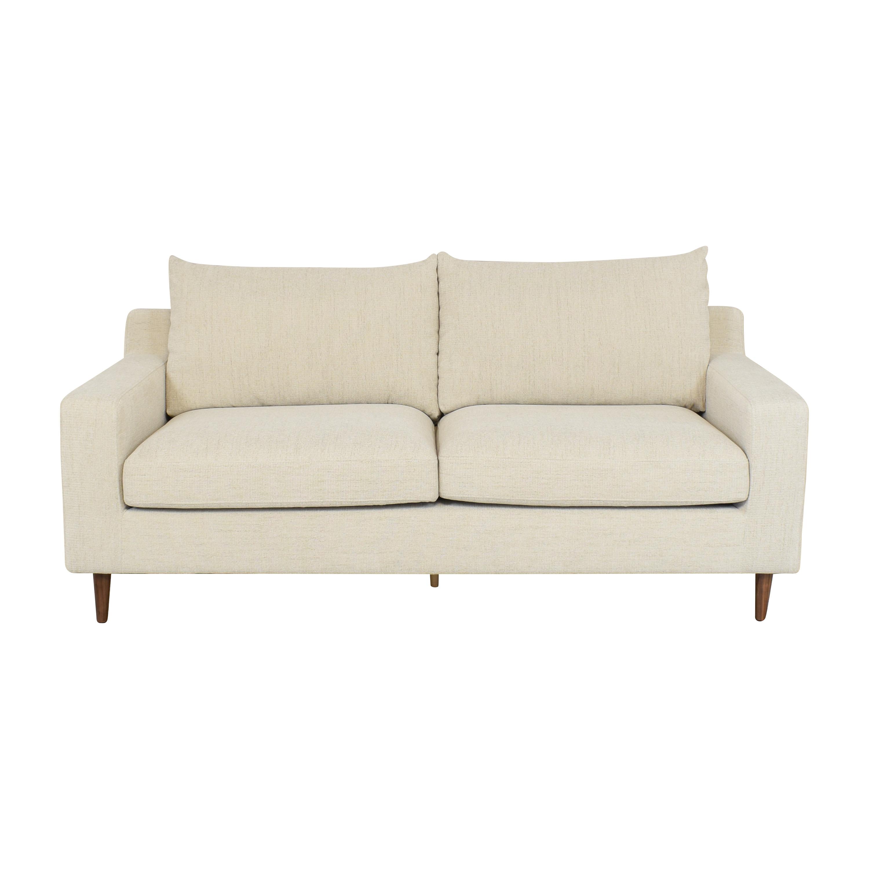 shop Interior Define Interior Define Sloan 2 Seat Sofa with Ottoman online