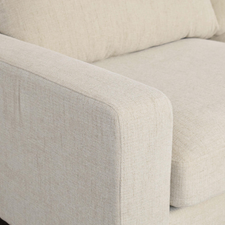 Interior Define Interior Define Sloan 2 Seat Sofa with Ottoman used