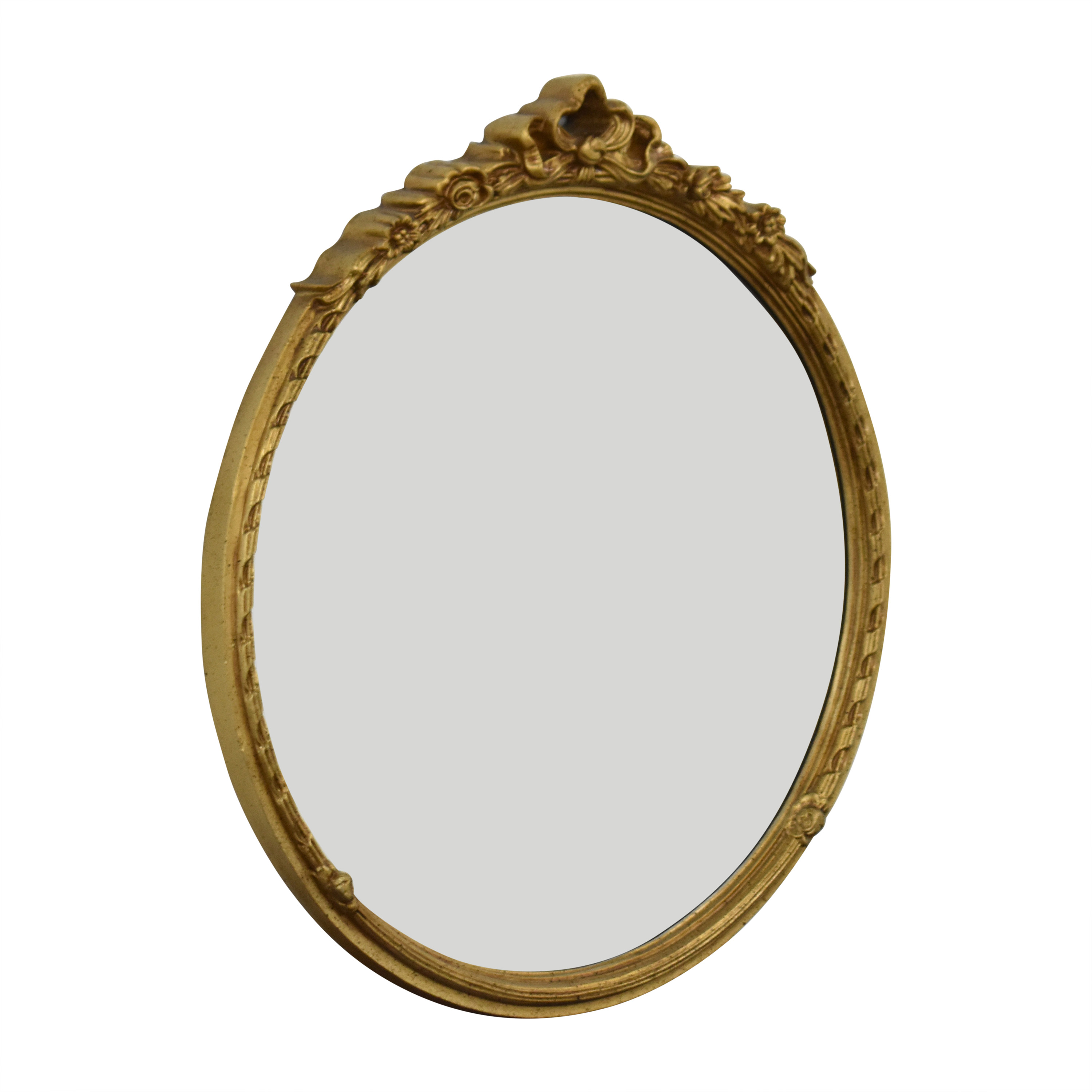 shop Fortunoff Fortunoff Round Wall Mirror with Decorative Frame online