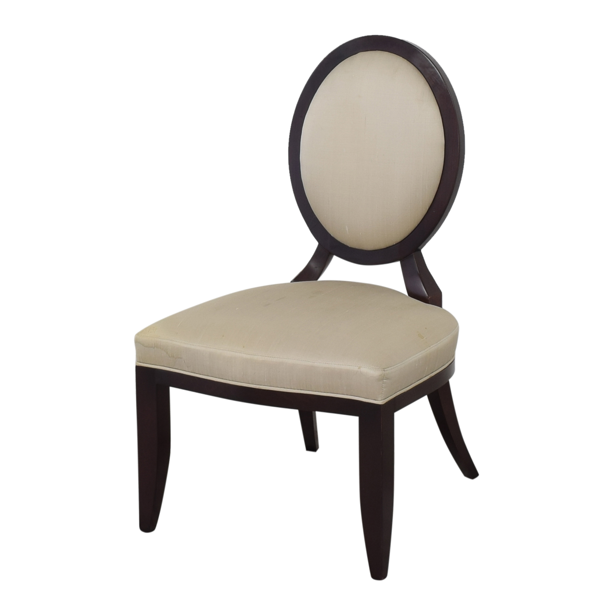 Baker Furniture Oval X Back Dining Chairs Baker Furniture