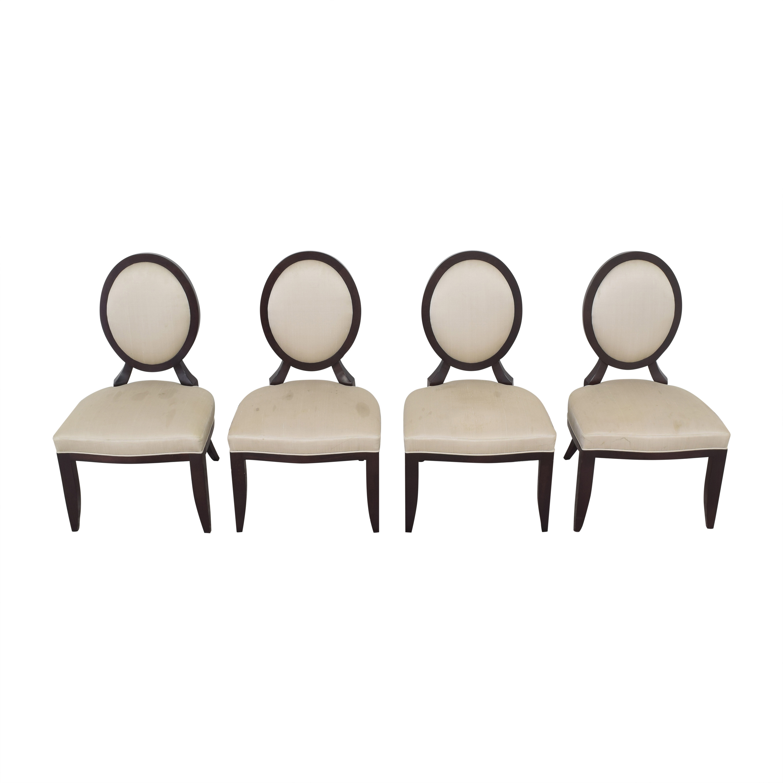 shop Baker Furniture Baker Furniture Oval X Back Dining Chairs online