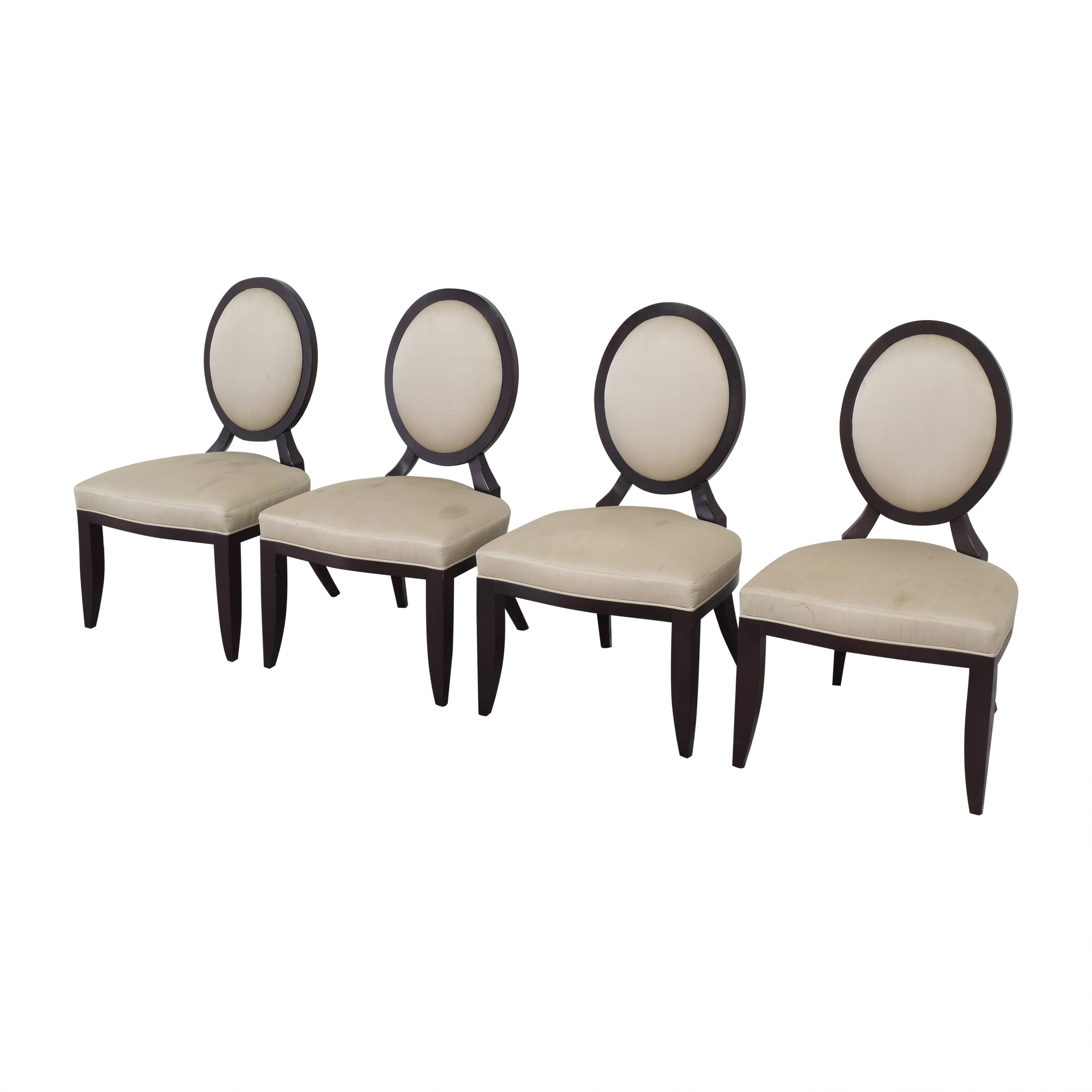 buy Baker Furniture Oval X Back Dining Chairs Baker Furniture Chairs