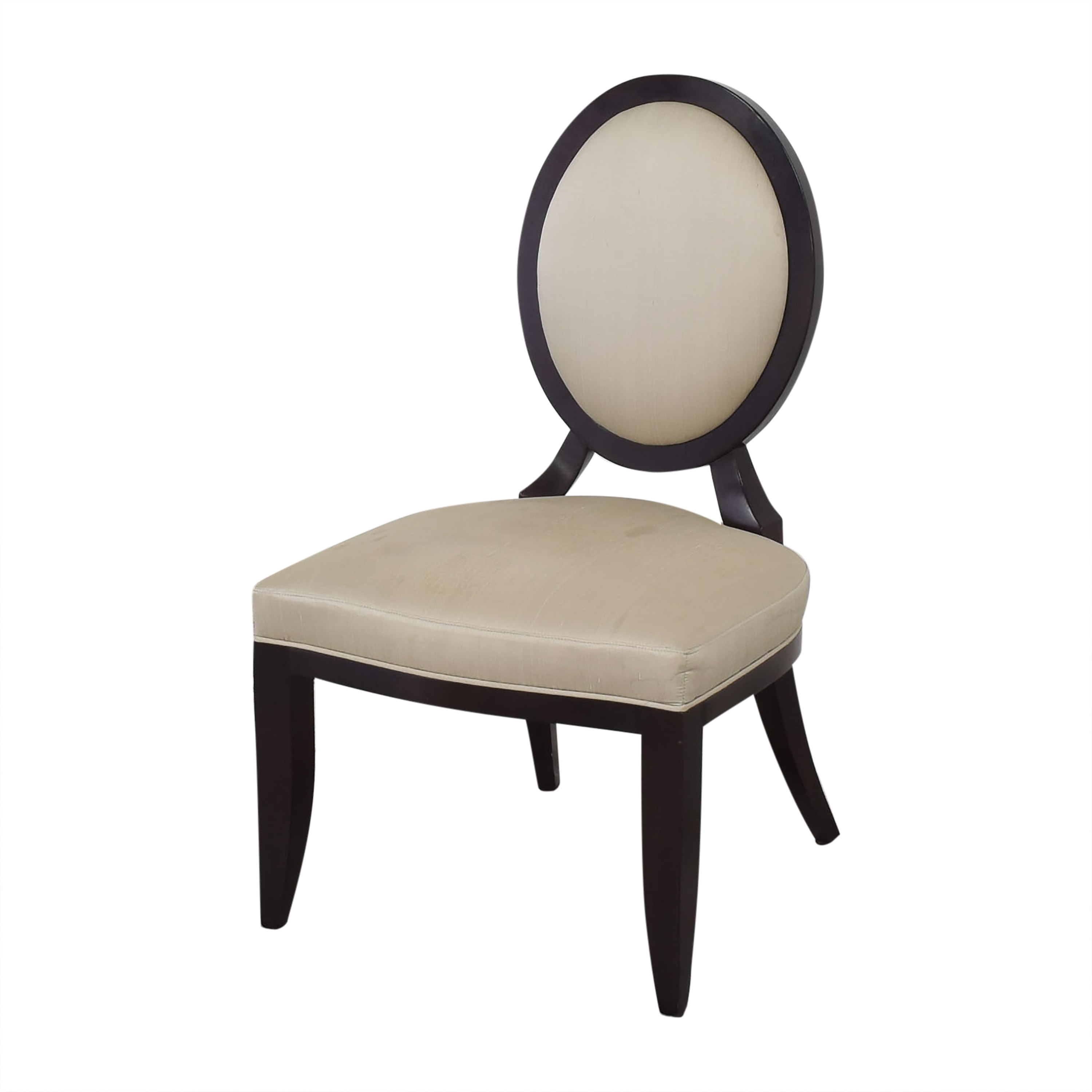 Baker Furniture Baker Furniture Oval X Back Dining Chairs ct