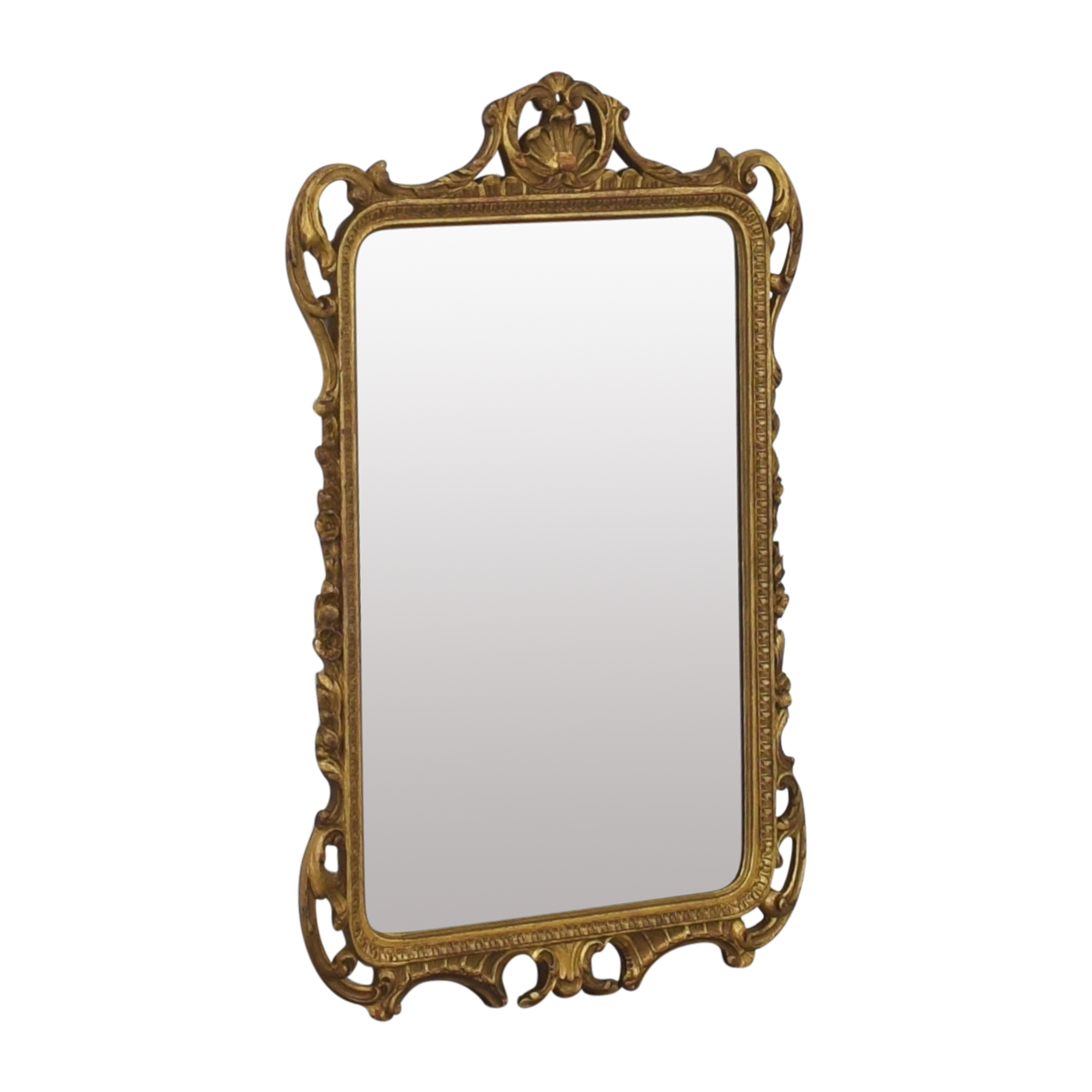 Vintage Mirror with Decorative Frame pa