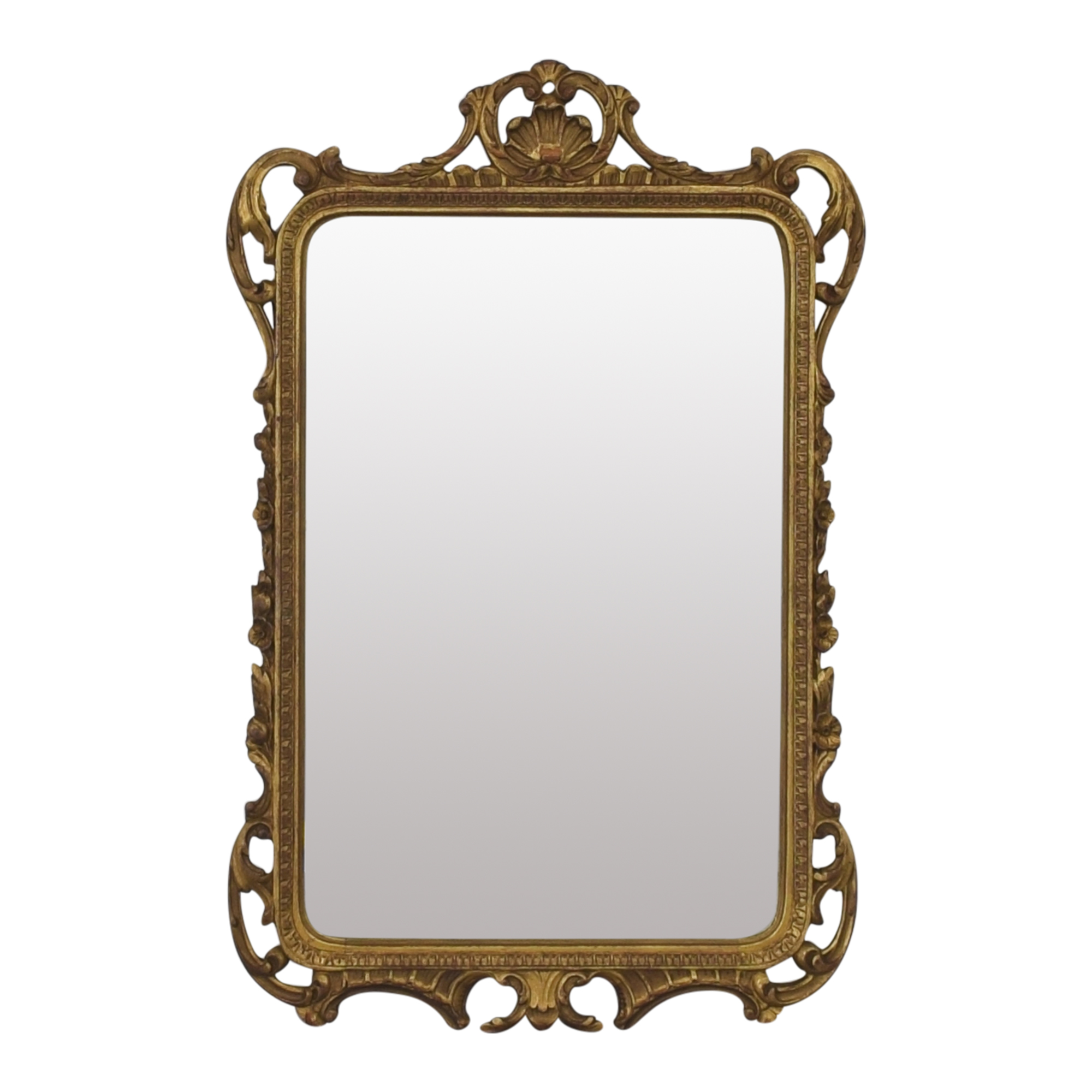 Vintage Mirror with Decorative Frame dimensions