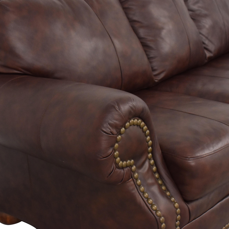 Ashley Furniture Ashley Furniture Nailhead Trim Sofa on sale