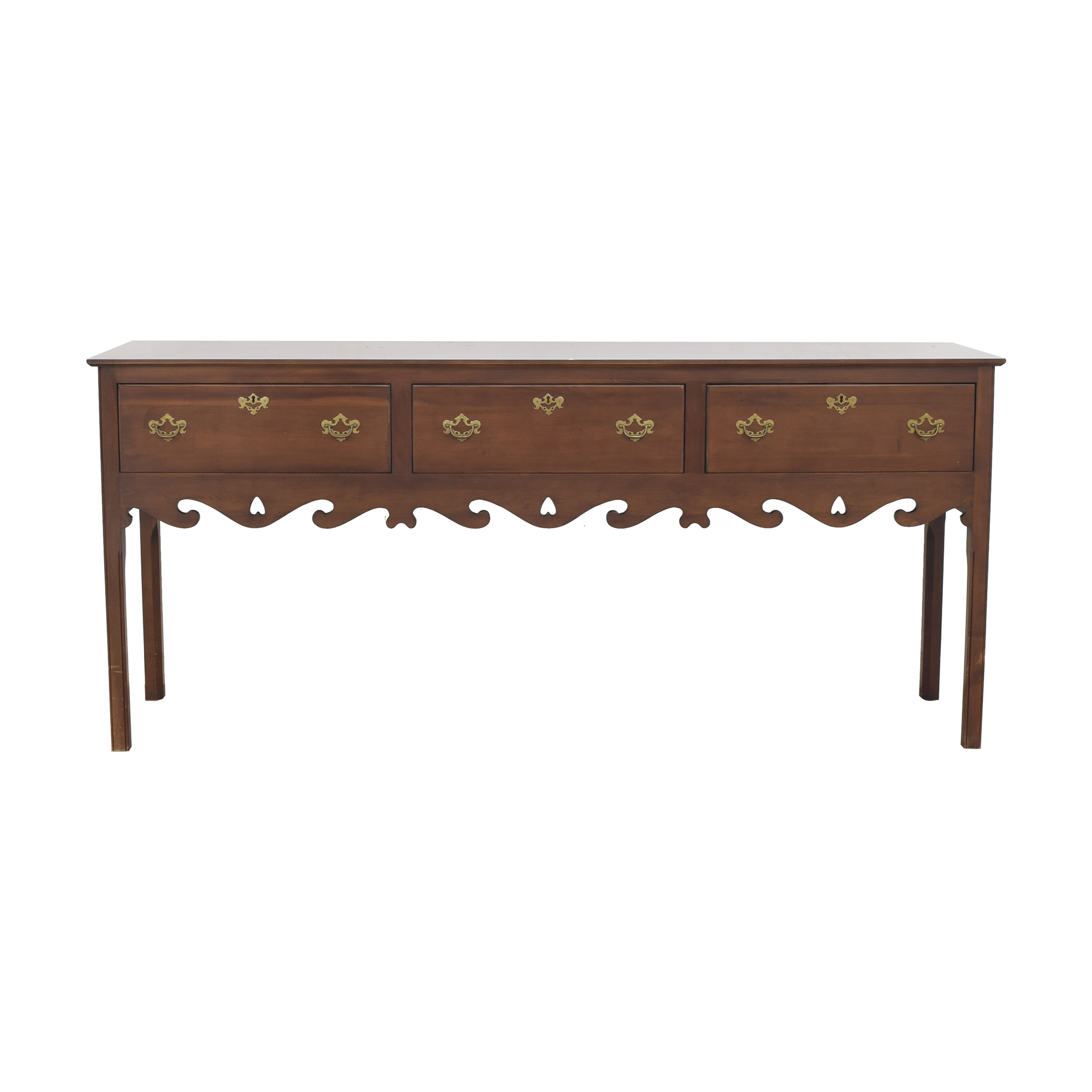 Vintage Carved Console Table / Cabinets & Sideboards
