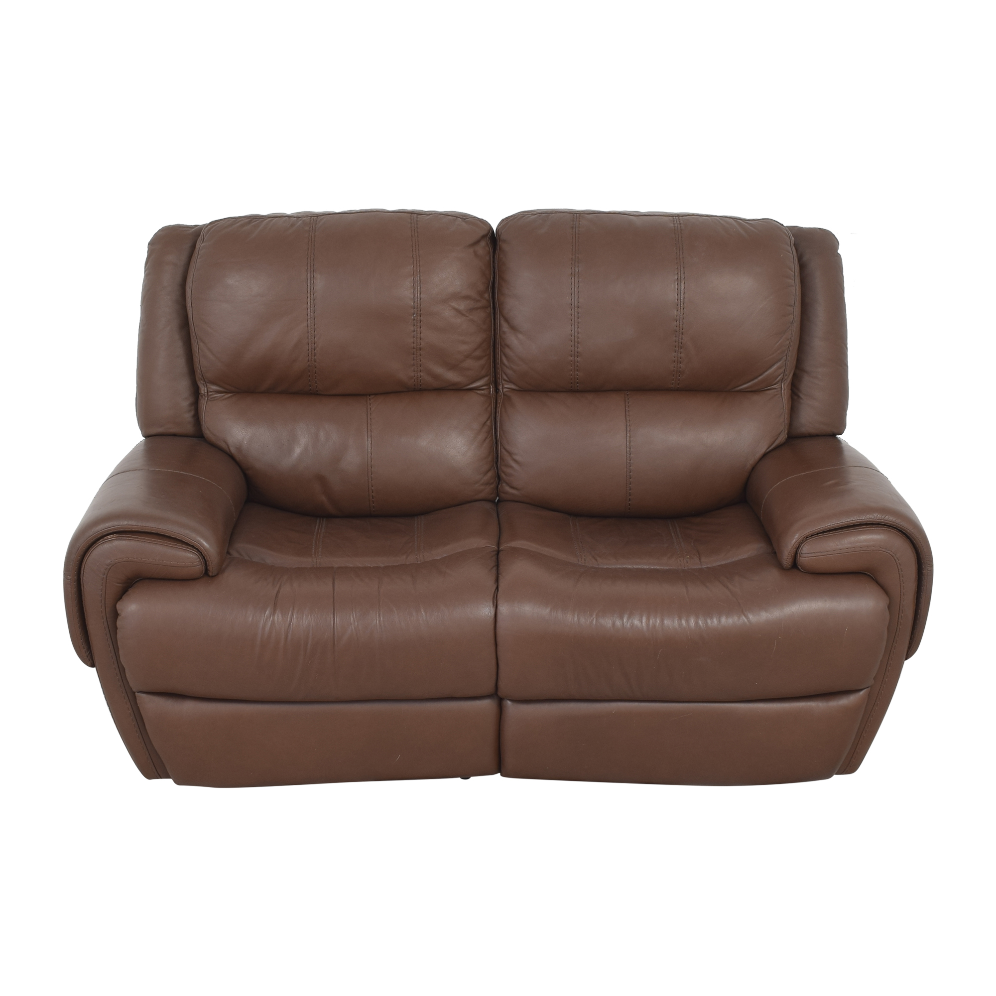 Raymour & Flanigan Raymour & Flanigan Colvin Power-Reclining Loveseat Loveseats