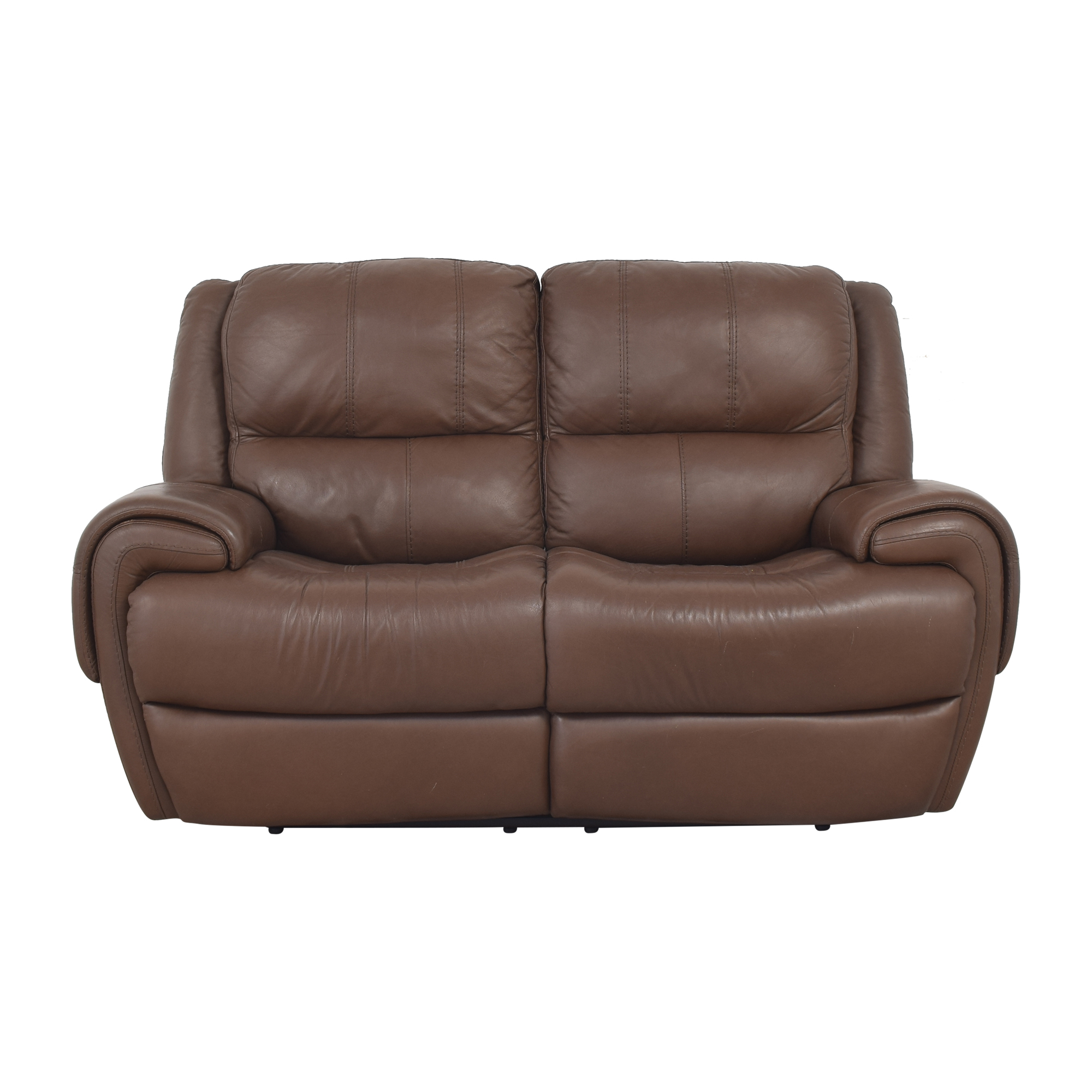 shop Raymour & Flanigan Colvin Power-Reclining Loveseat Raymour & Flanigan Sofas