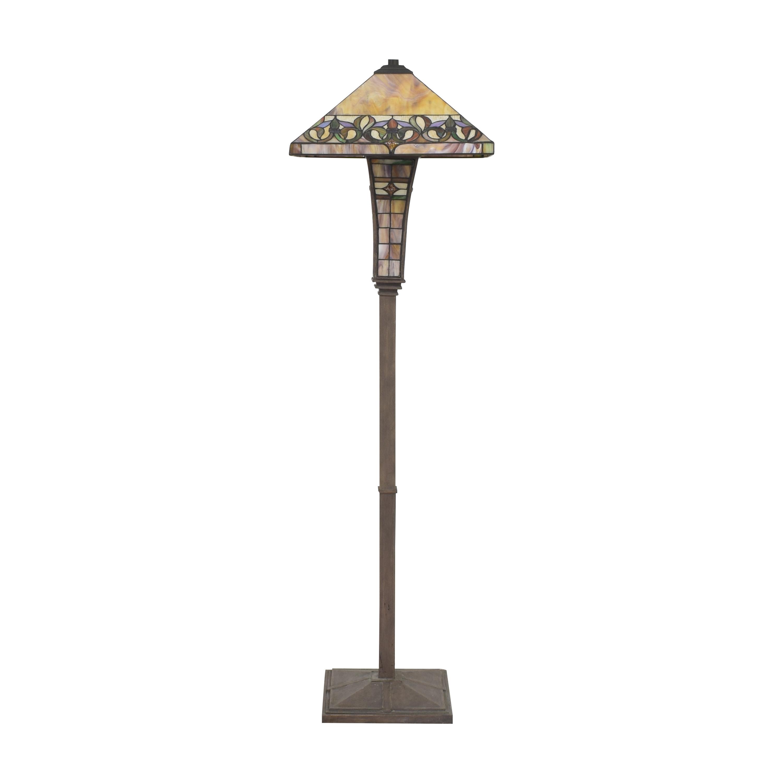 Tiffany-Style Floor Lamp multi