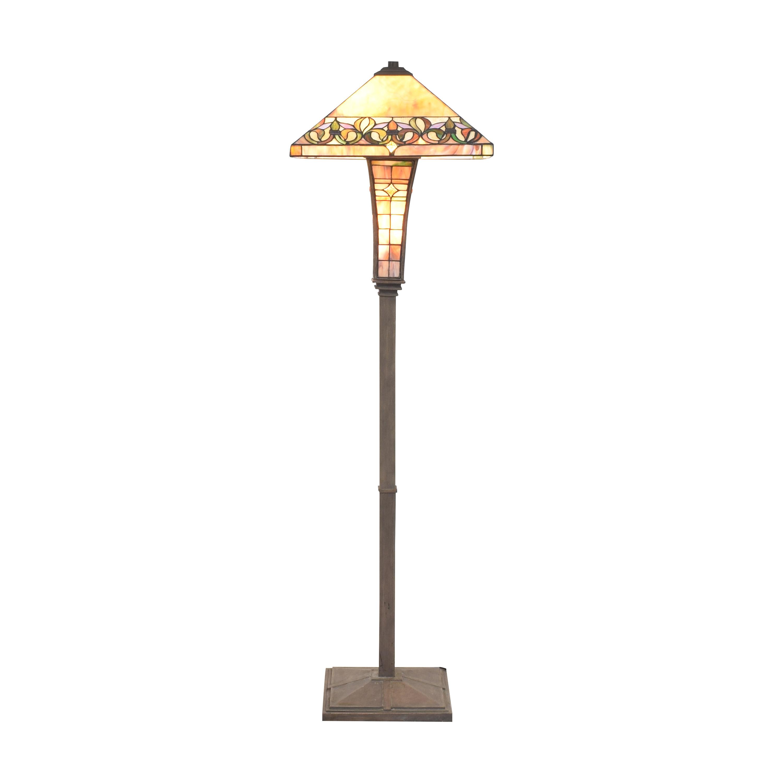 Tiffany-Style Floor Lamp