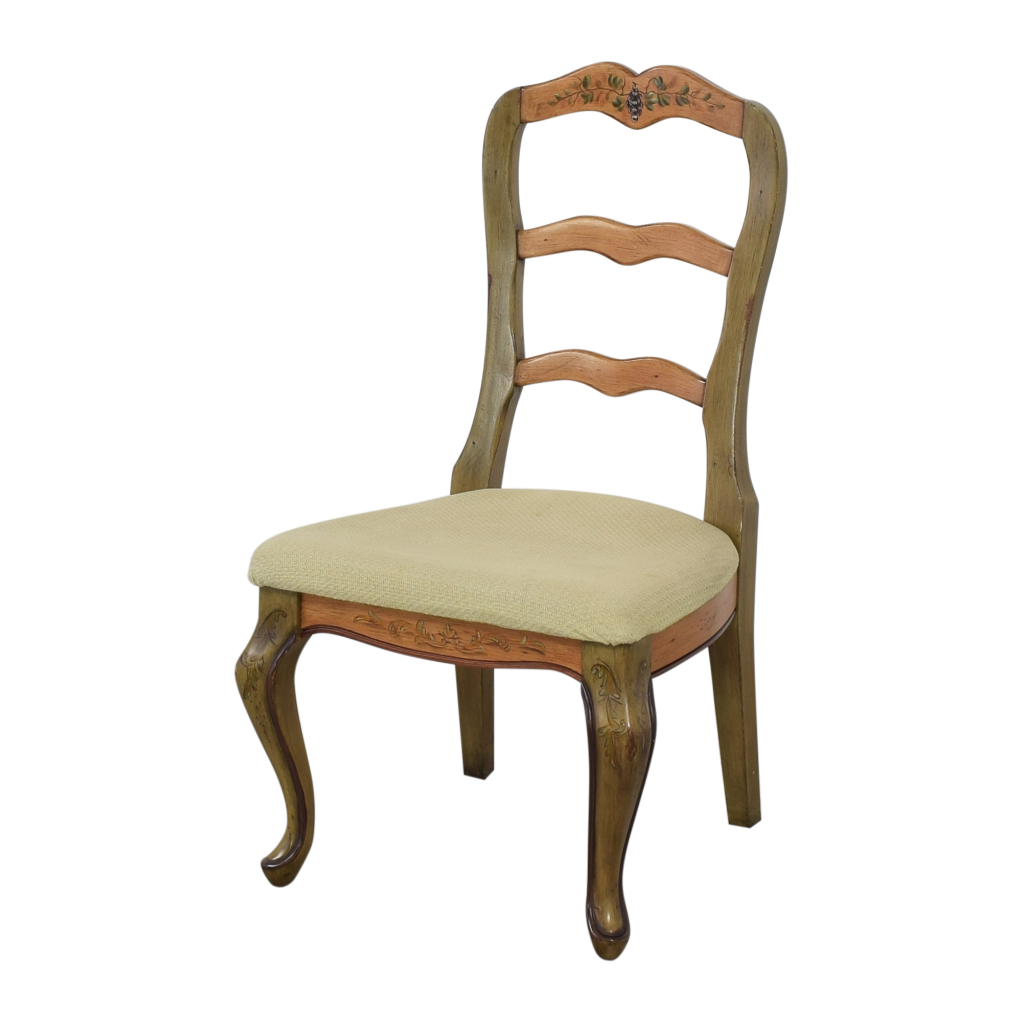 Painted French Country Style Dining Chairs Dining Chairs
