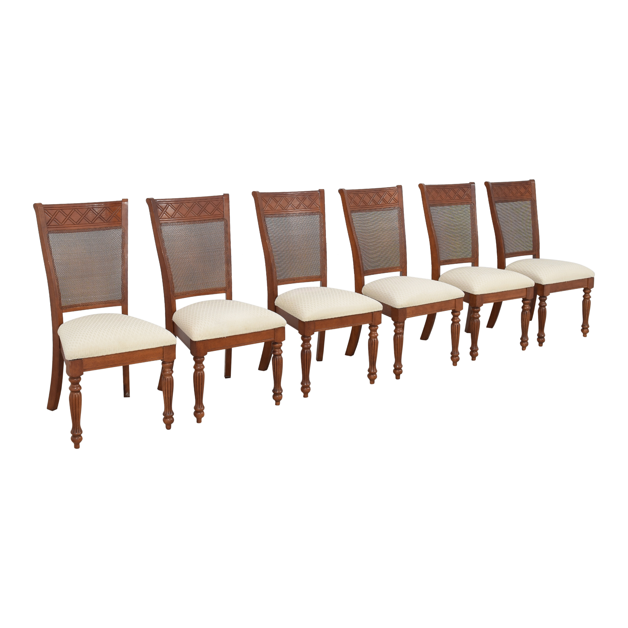 Cane Back Dining Chairs dimensions
