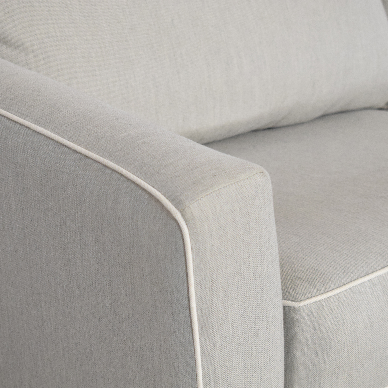 Raymour & Flanigan Raymour & Flanigan Two Cushion Sleeper Sofa Sofas