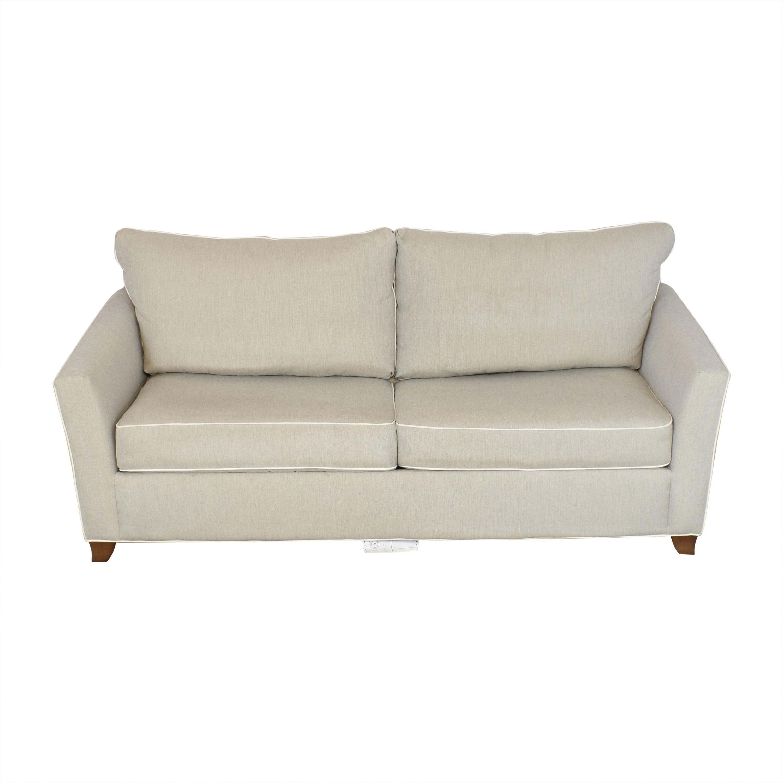 Raymour & Flanigan Two Cushion Sleeper Sofa Raymour & Flanigan