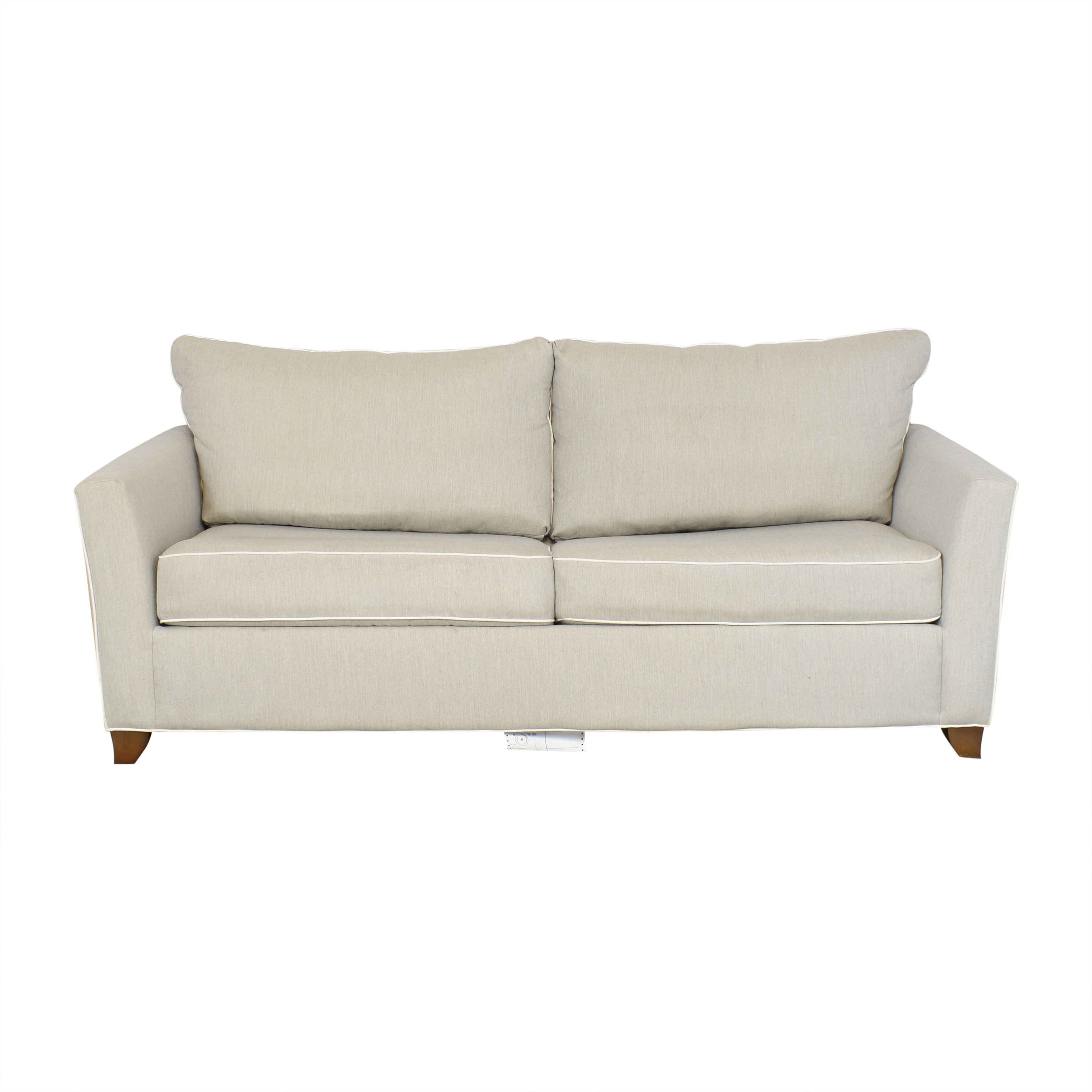 buy Raymour & Flanigan Two Cushion Sleeper Sofa Raymour & Flanigan Sofa Beds