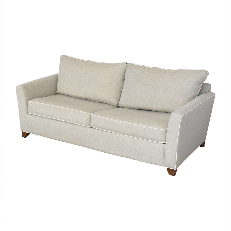 Raymour & Flanigan Raymour & Flanigan Two Cushion Sleeper Sofa ct