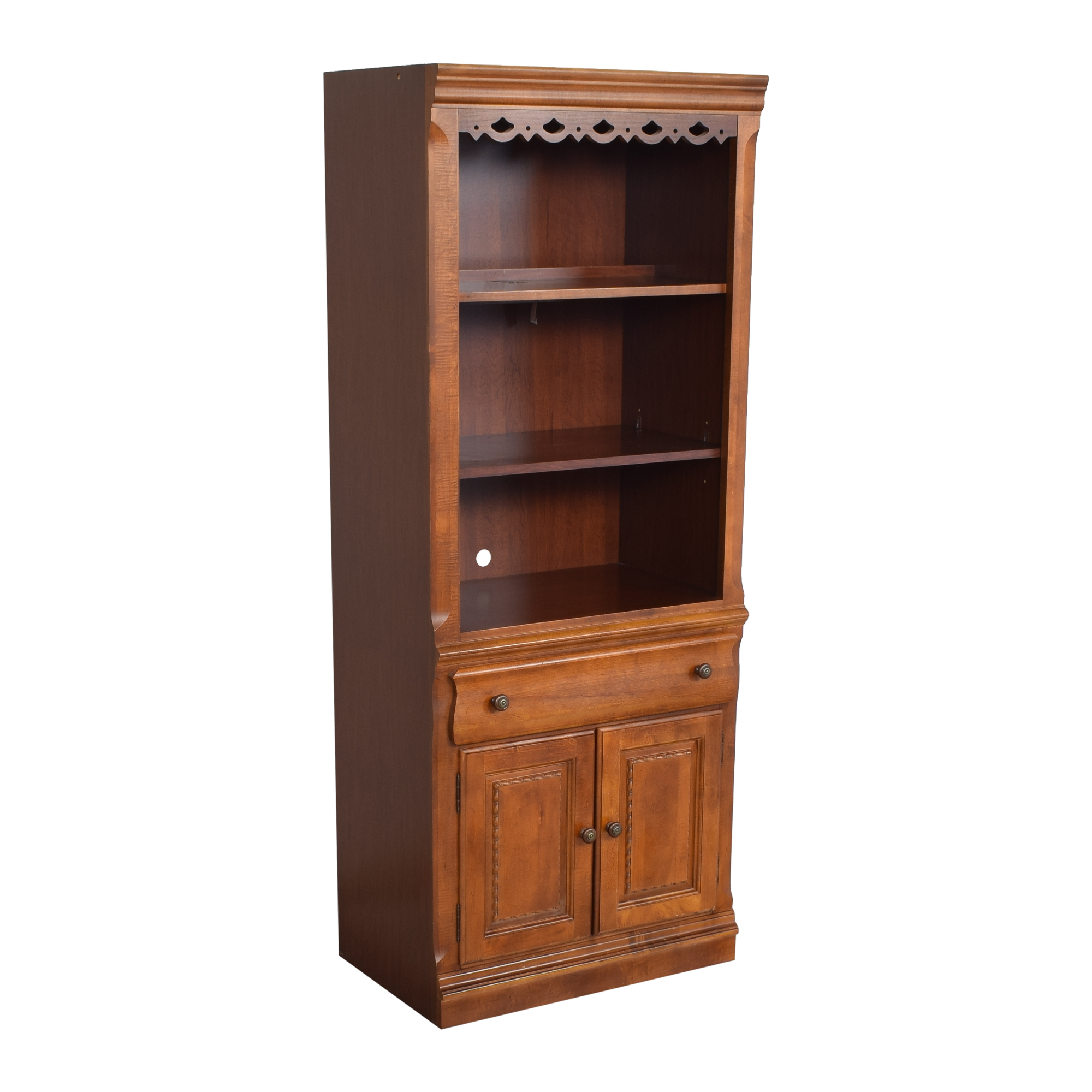 Broyhill Furniture Broyhill Furniture Lighted Bookcase on sale