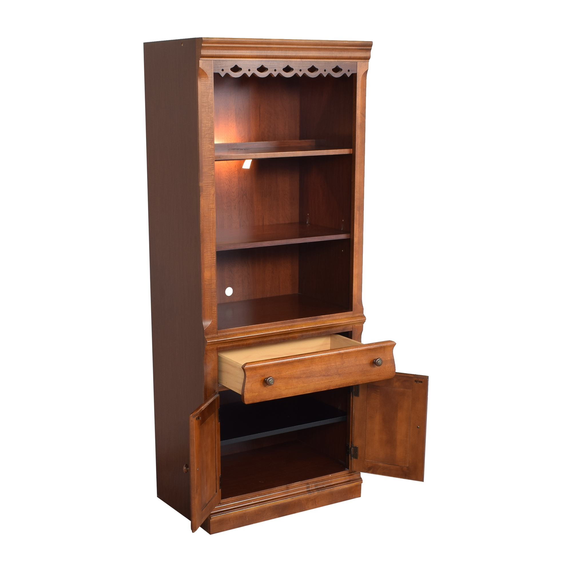 Broyhill Furniture Broyhill Furniture Lighted Bookcase nyc