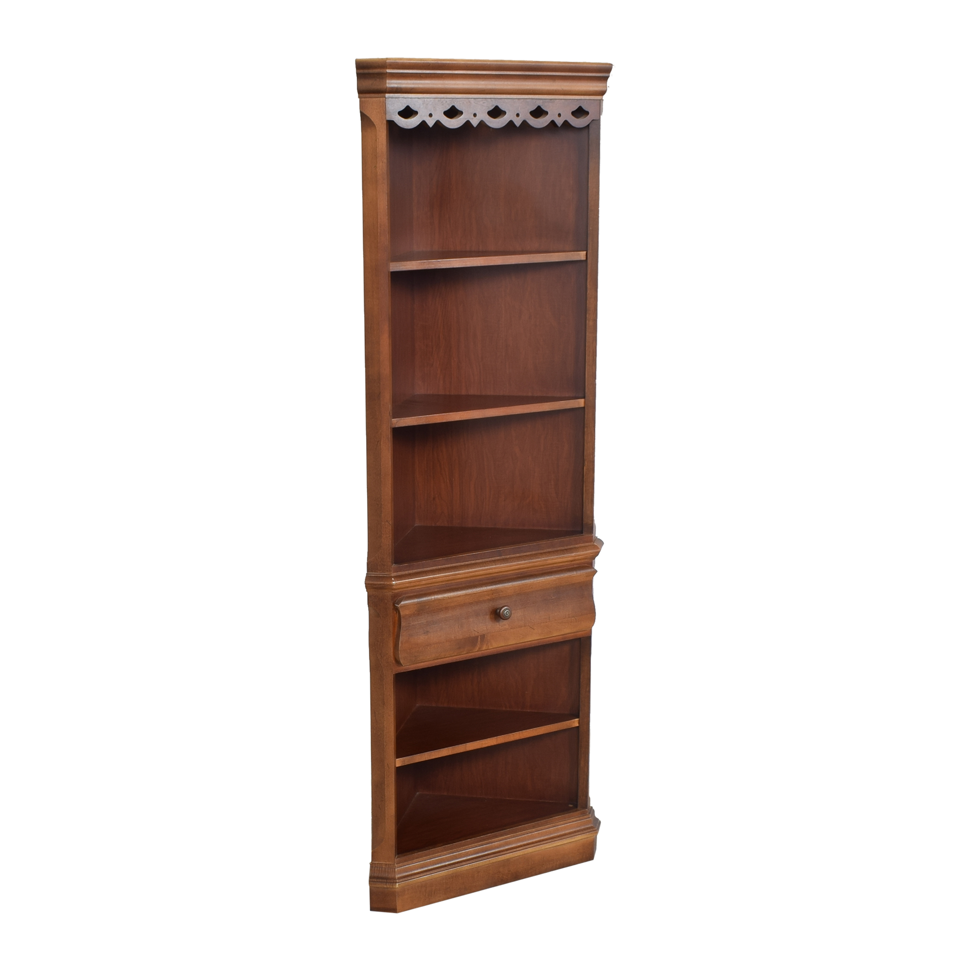 Tall Corner Bookcase on sale