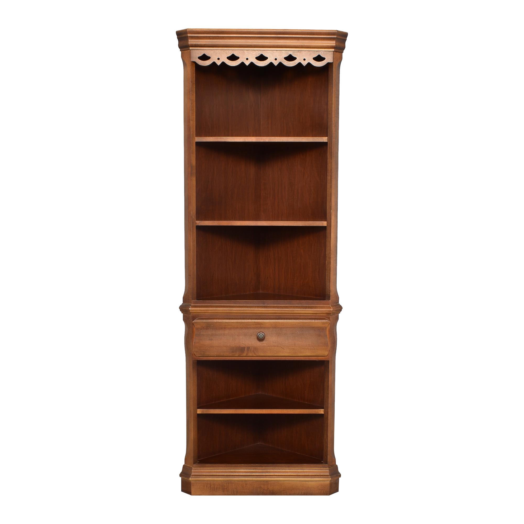 Tall Corner Bookcase / Bookcases & Shelving