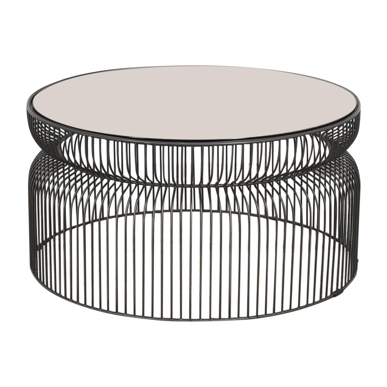 Crate & Barrel Crate & Barrel Spoke Coffee Table pa