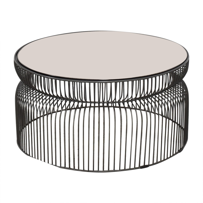 Crate & Barrel Crate & Barrel Spoke Coffee Table dimensions