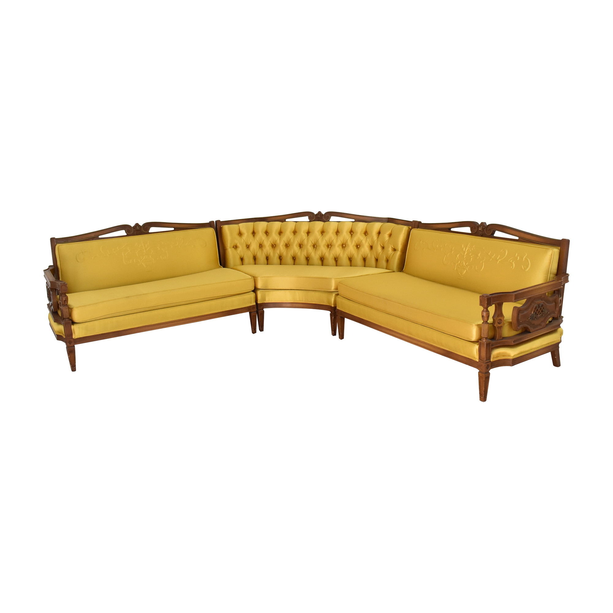 Vintage Style Sectional Sofa / Sectionals