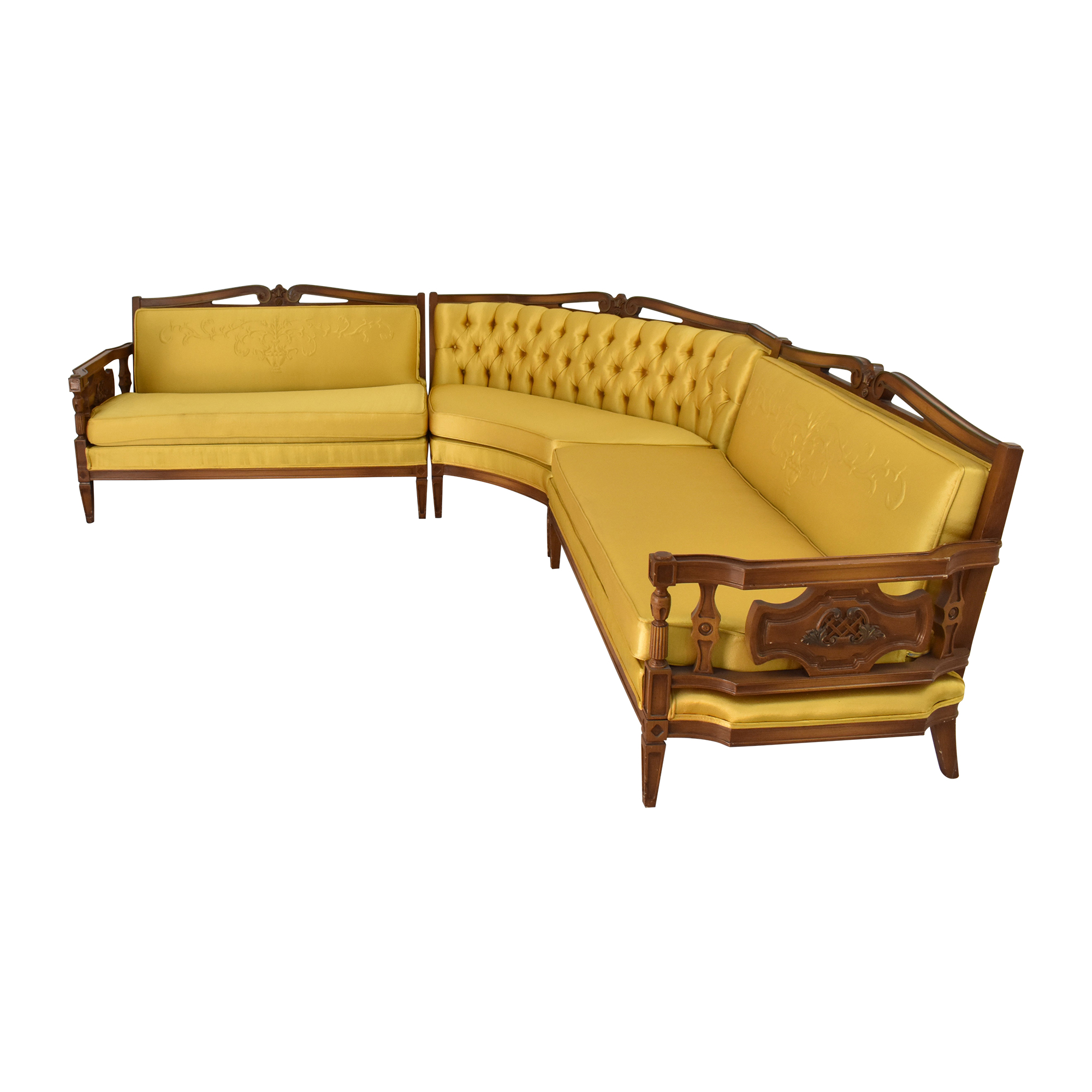 Vintage Style Sectional Sofa used